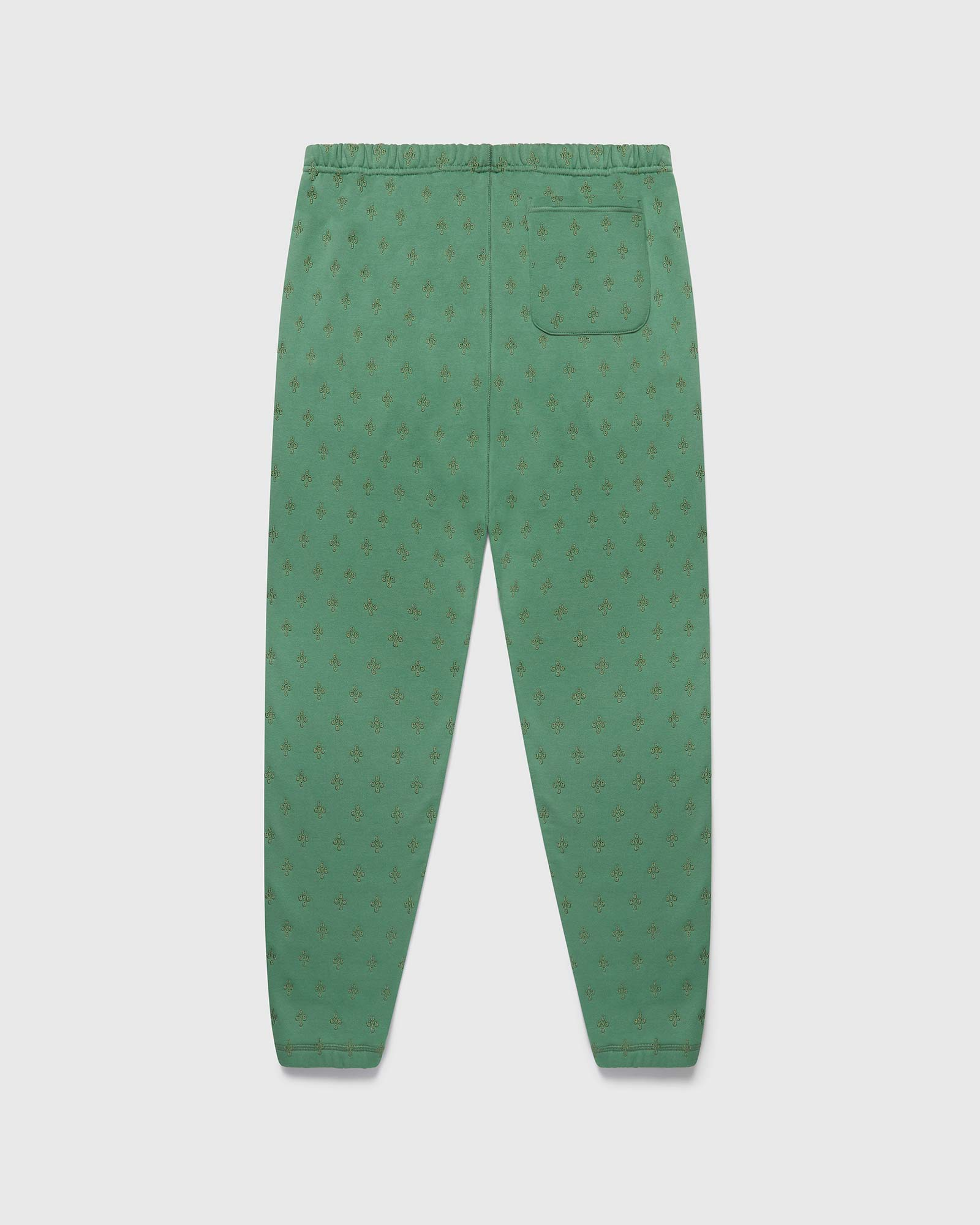 MONOGRAM SWEATPANT - EVERGREEN IMAGE #2