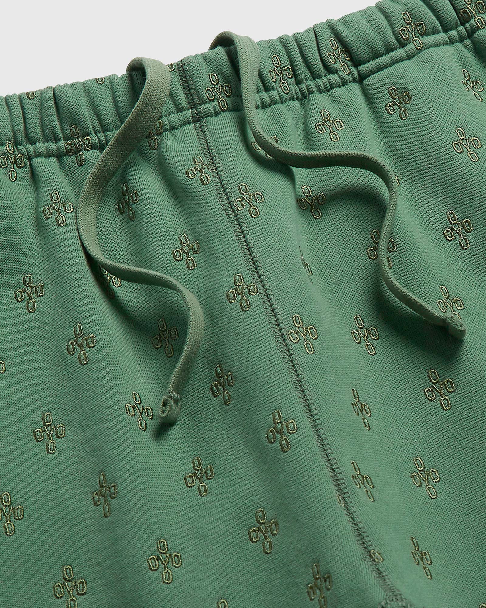 MONOGRAM SWEATPANT - EVERGREEN IMAGE #3