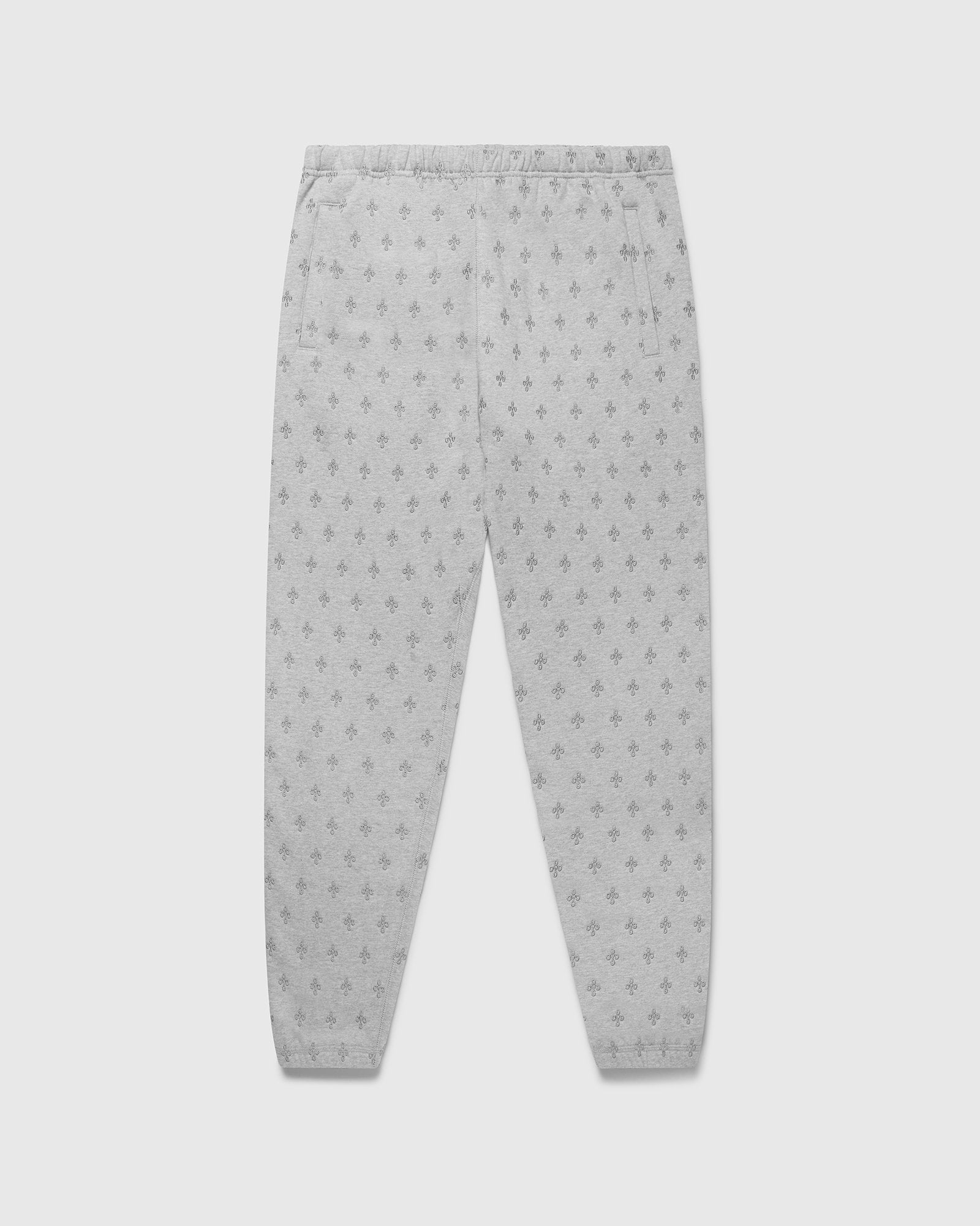 MONOGRAM SWEATPANT - HEATHER GREY IMAGE #1