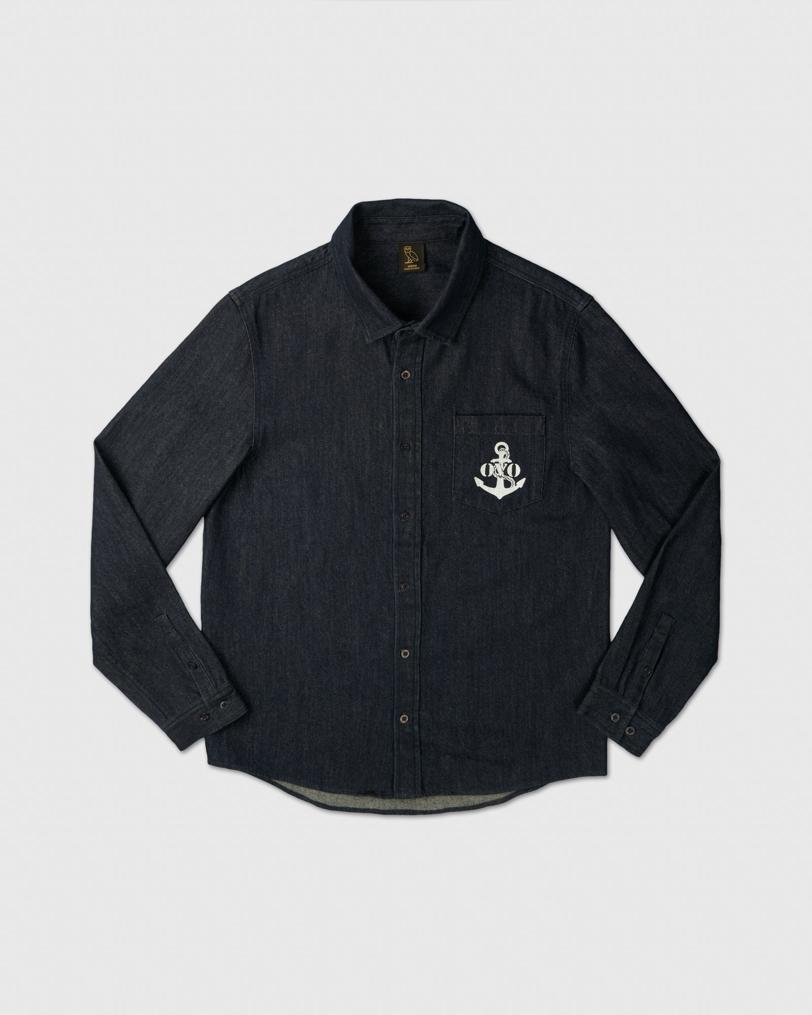 NAUTICAL DENIM SHIRT - INDIGO IMAGE #1