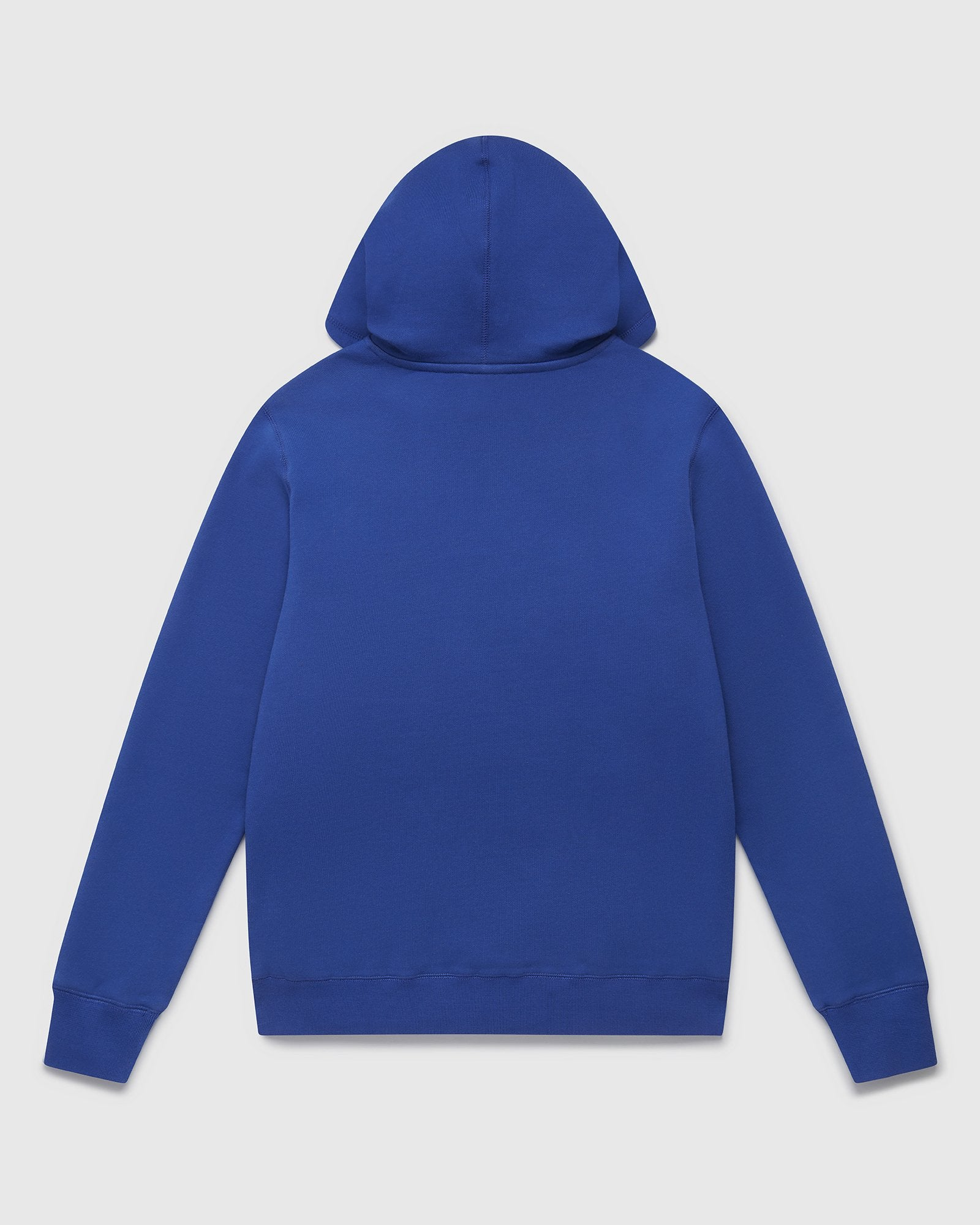 NEON LIGHT HOODIE - ROYAL BLUE/LIME IMAGE #2