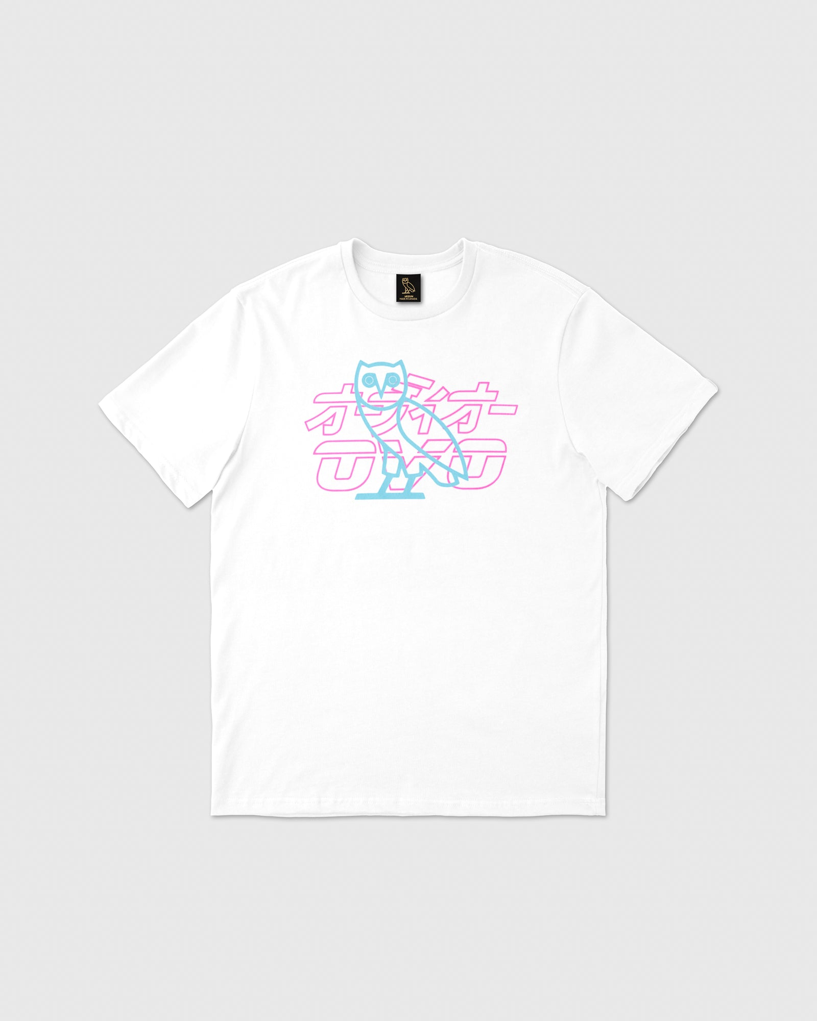 NEON LIGHT T-SHIRT - WHITE IMAGE #1