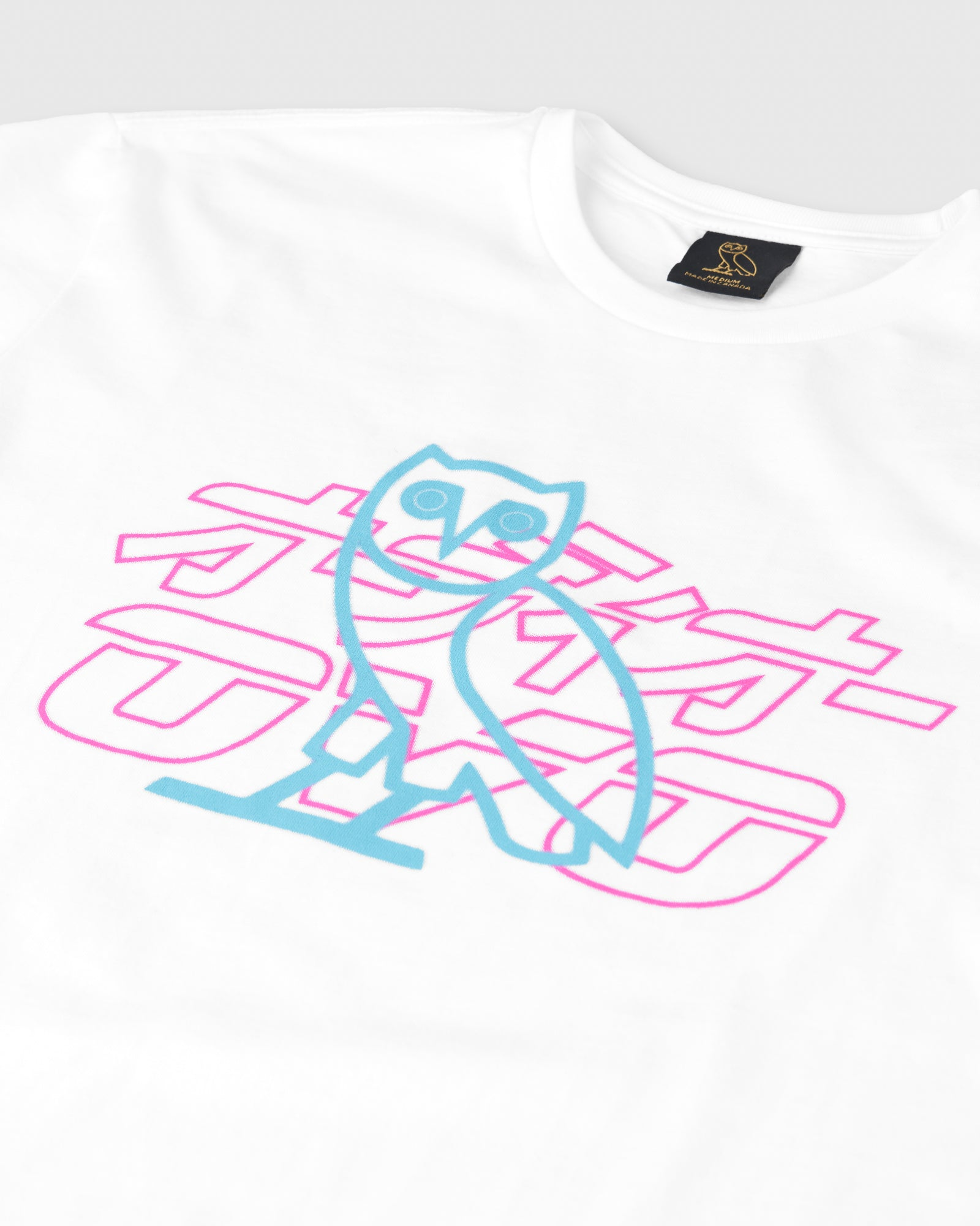 NEON LIGHT T-SHIRT - WHITE IMAGE #2