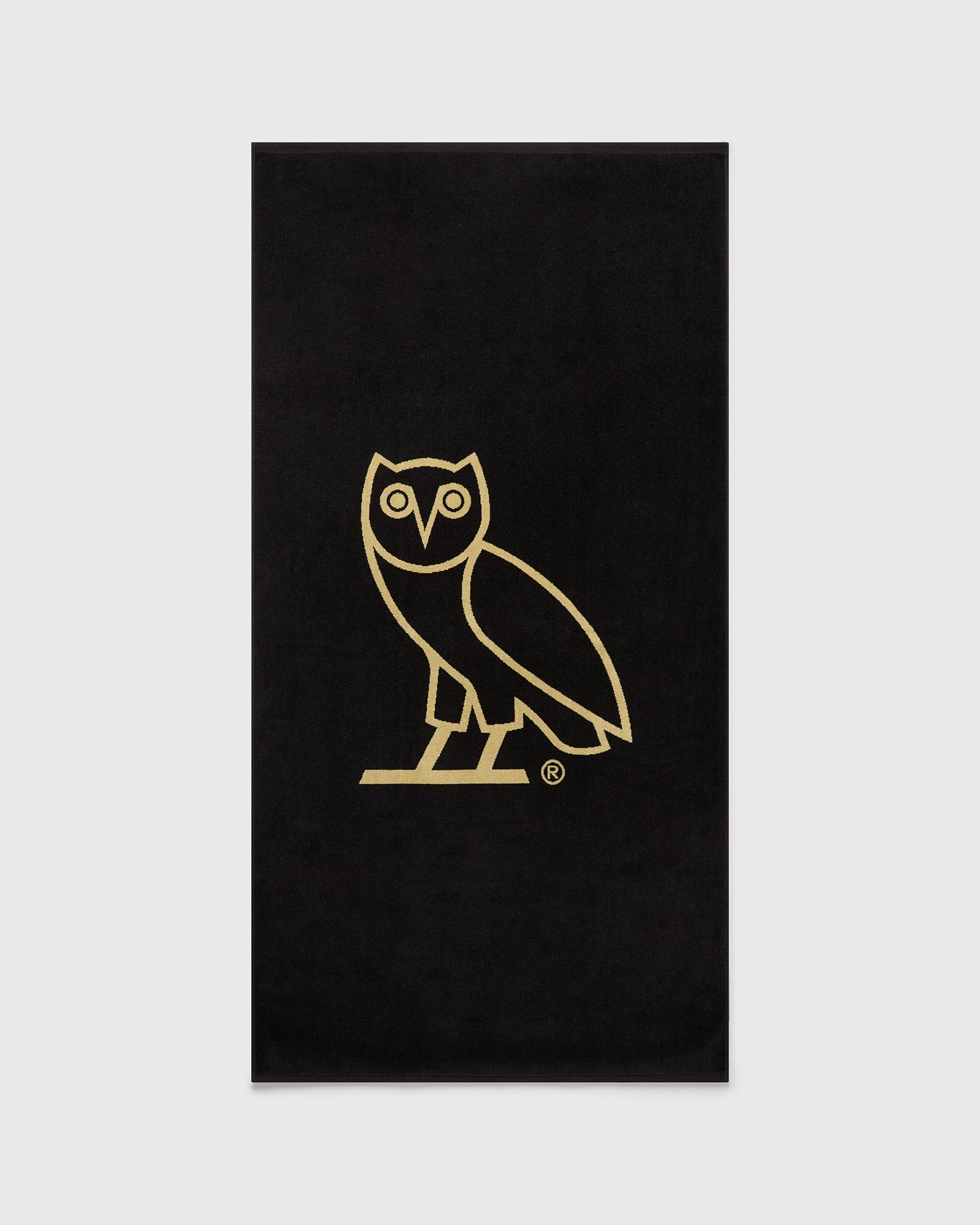 OVO® RESORT TOWEL - BLACK/GOLD IMAGE #1