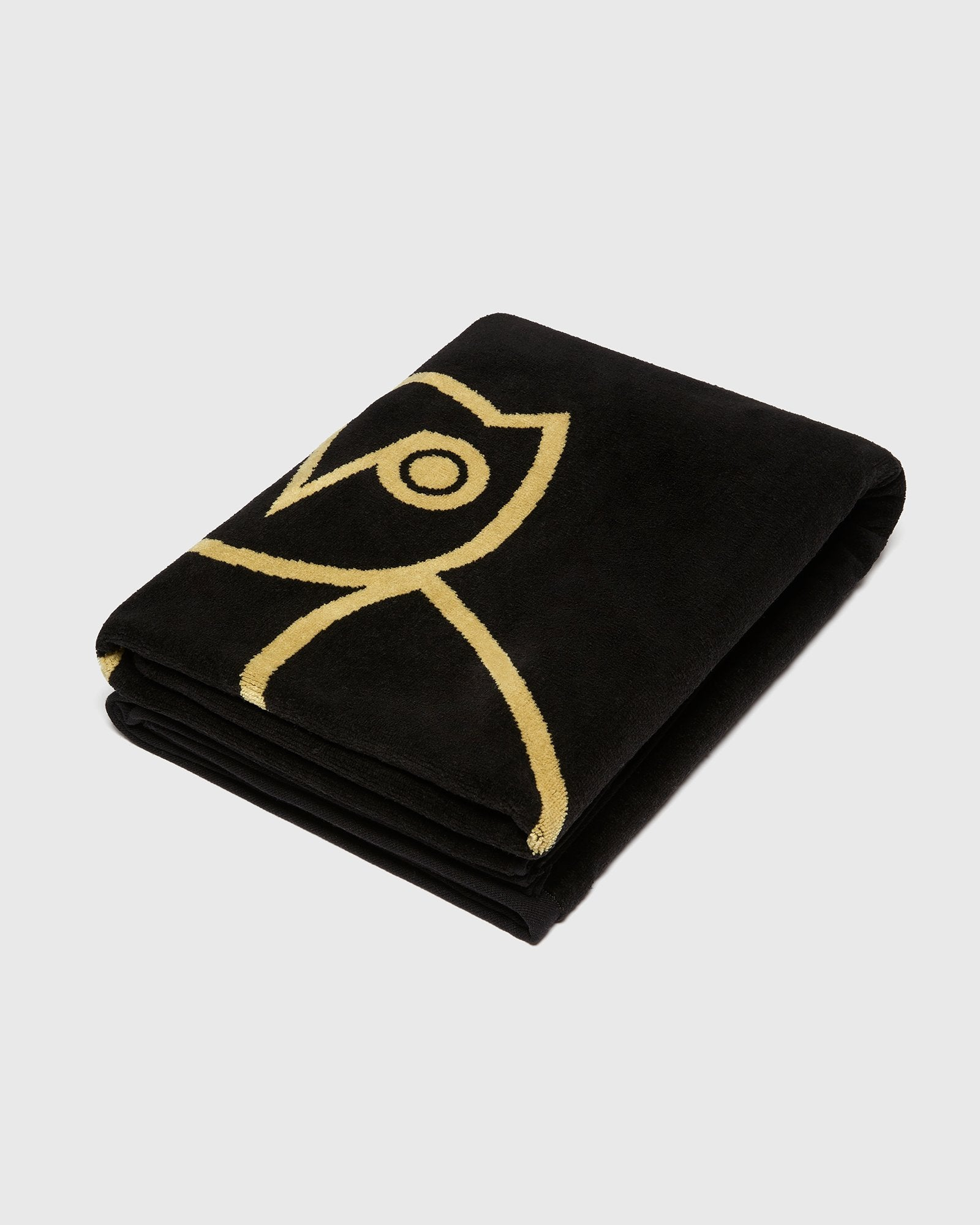 OVO® RESORT TOWEL - BLACK/GOLD IMAGE #4