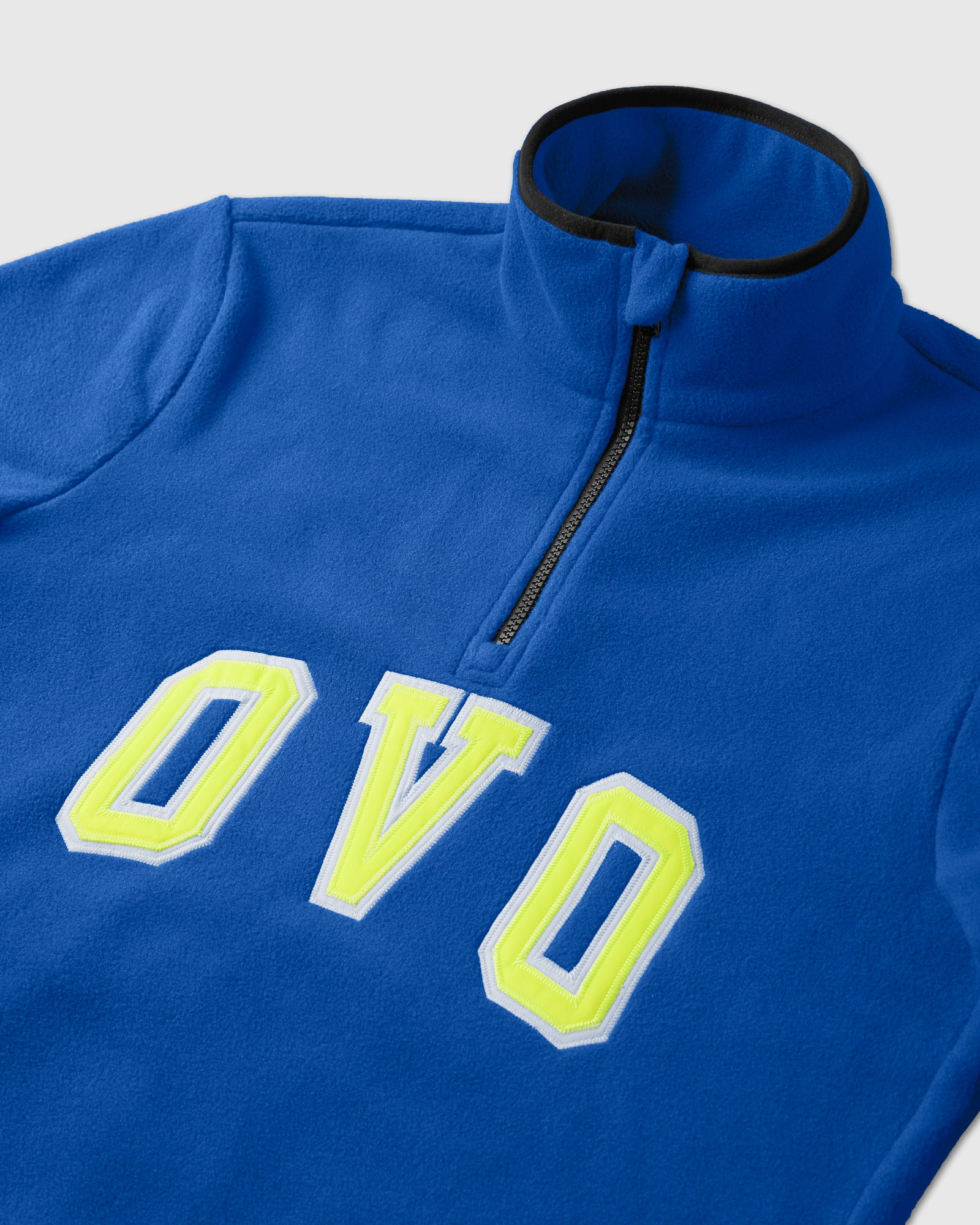 OVO ARCH POLAR FLEECE HALF ZIP - ROYAL BLUE IMAGE #3