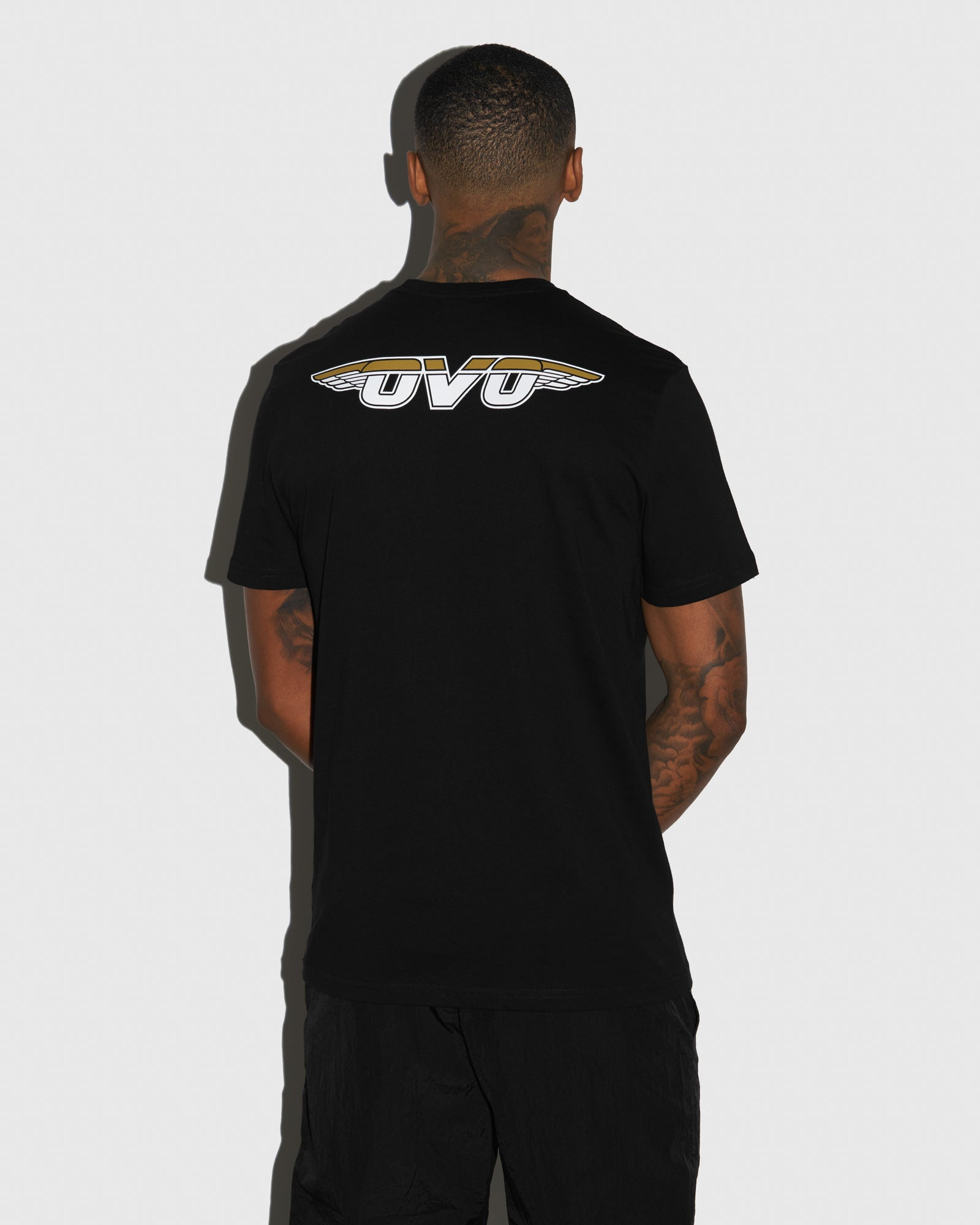 AVIATOR T-SHIRT - BLACK IMAGE #3