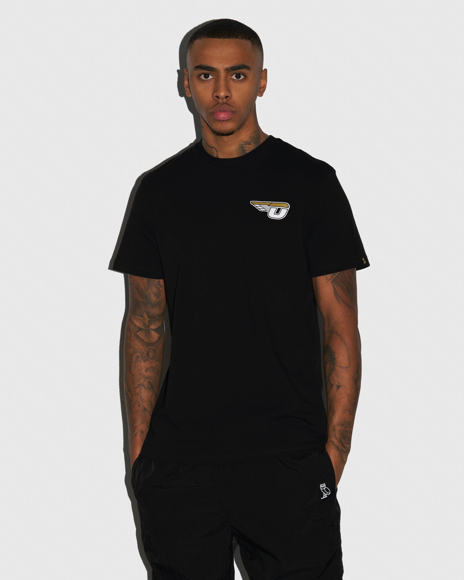 AVIATOR T-SHIRT - BLACK IMAGE #2