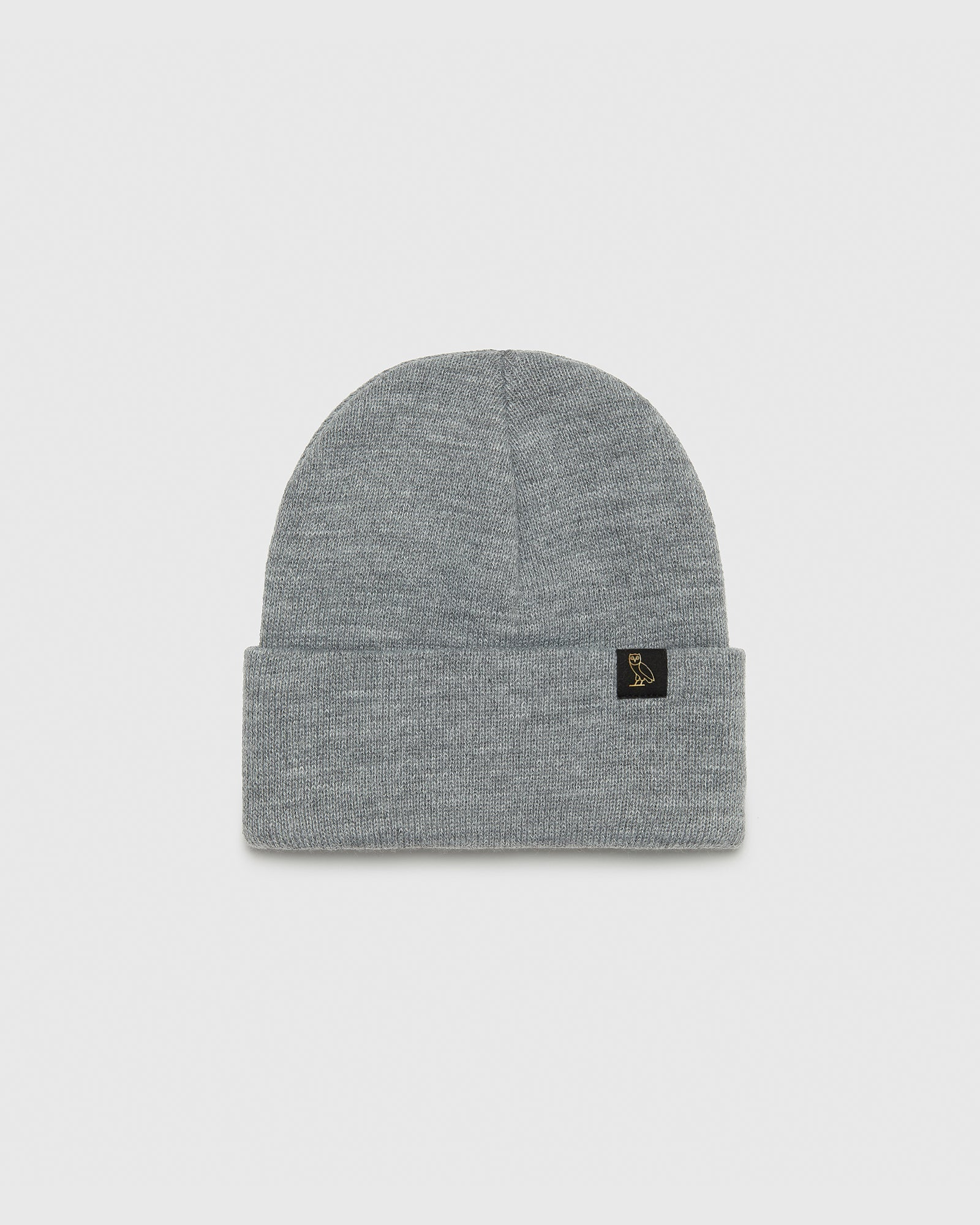 OVO BEANIE - HEATHER GREY IMAGE #1