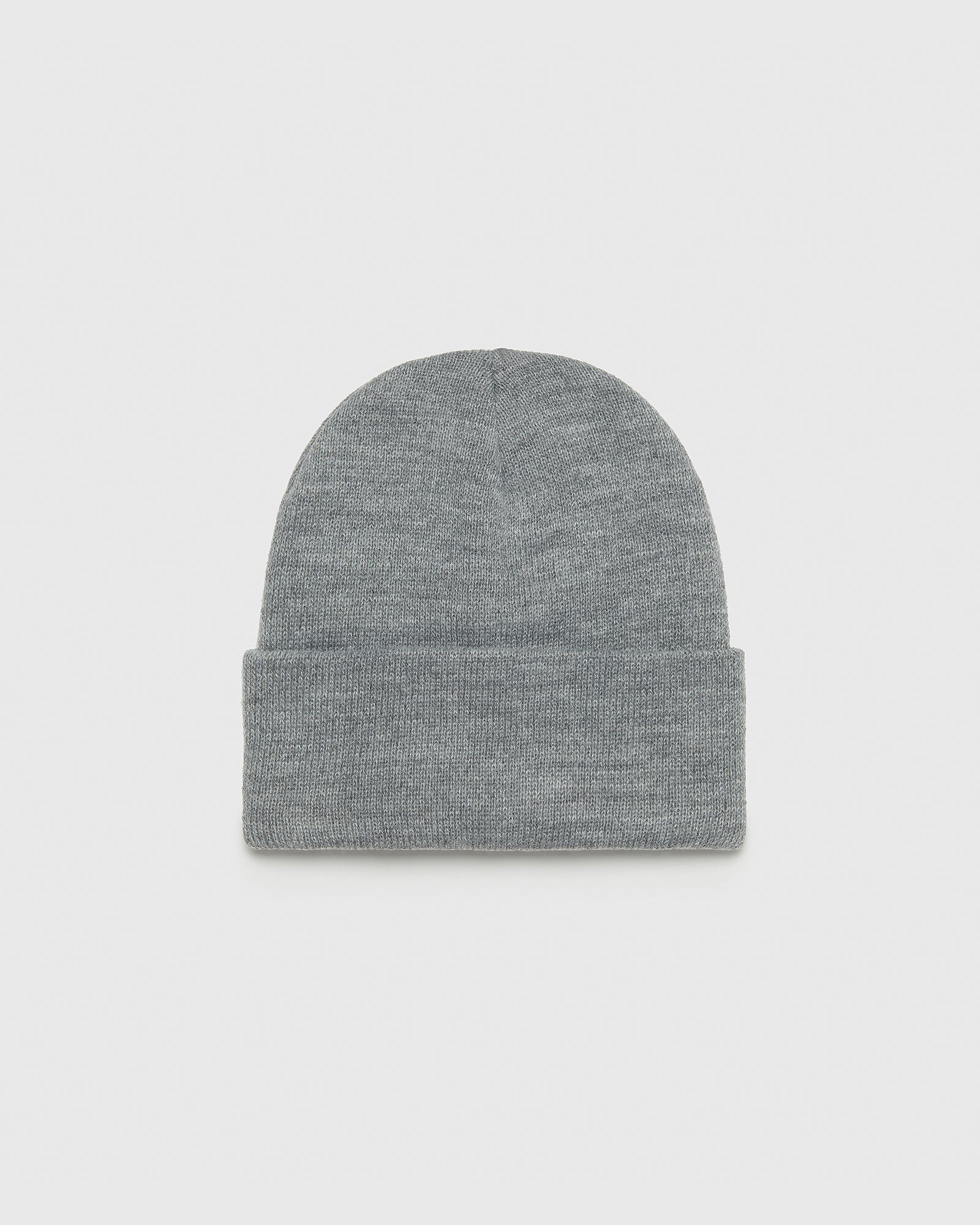 OVO BEANIE - HEATHER GREY IMAGE #2