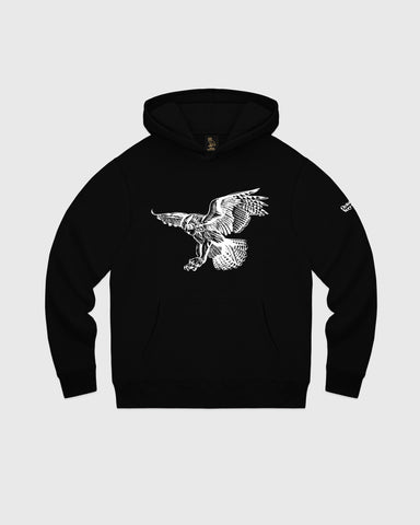 BIRD OF PREY HOODIE - BLACK