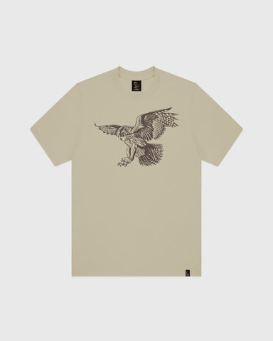 BIRD OF PREY T-SHIRT - KHAKI