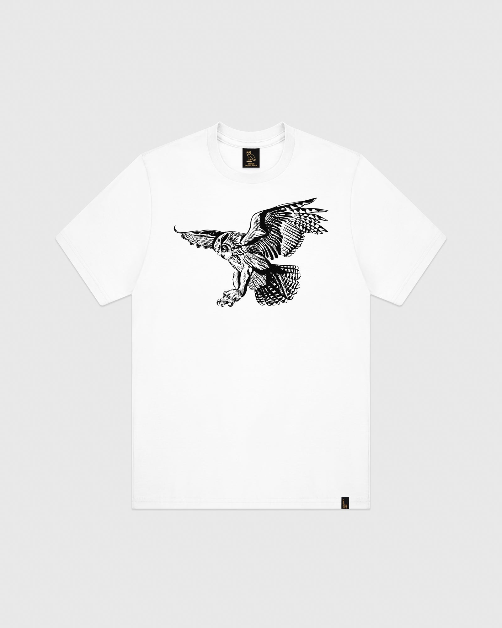 BIRD OF PREY T-SHIRT - WHITE IMAGE #1