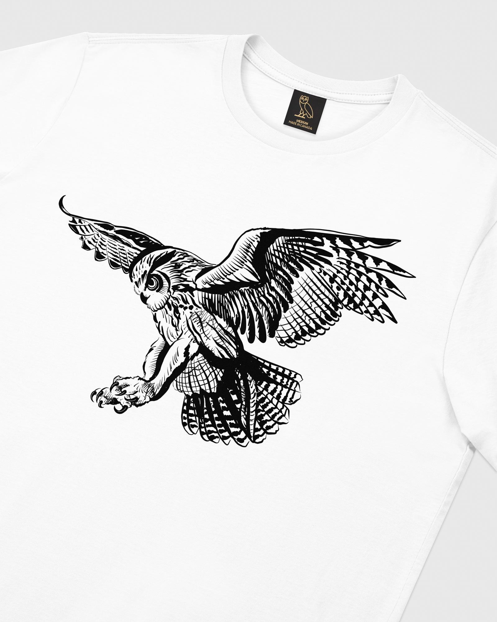 BIRD OF PREY T-SHIRT - WHITE IMAGE #3