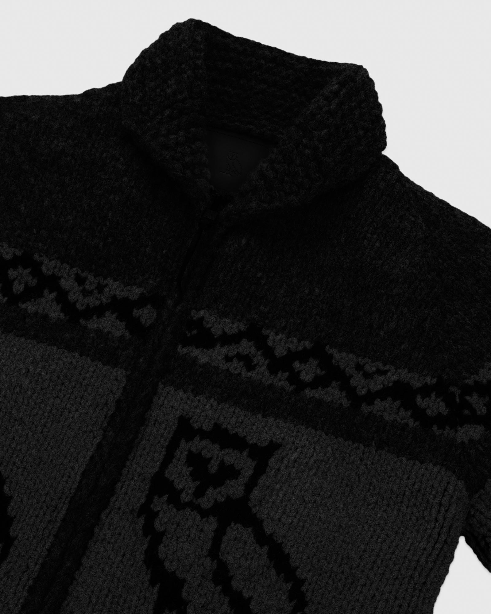 CANADIAN WOOL SWEATER - BLACK IMAGE #4