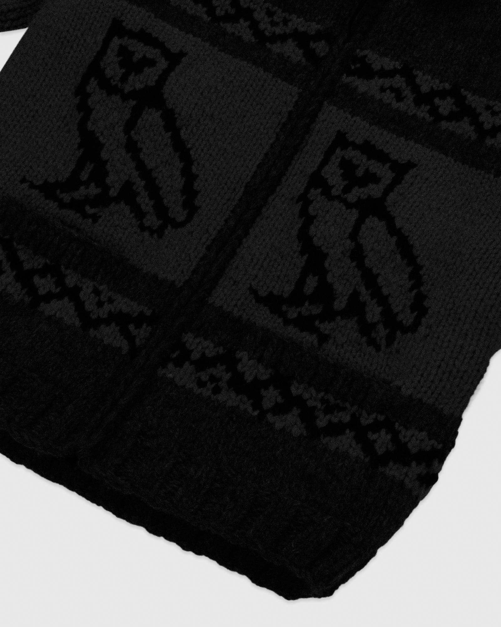 CANADIAN WOOL SWEATER - BLACK IMAGE #5