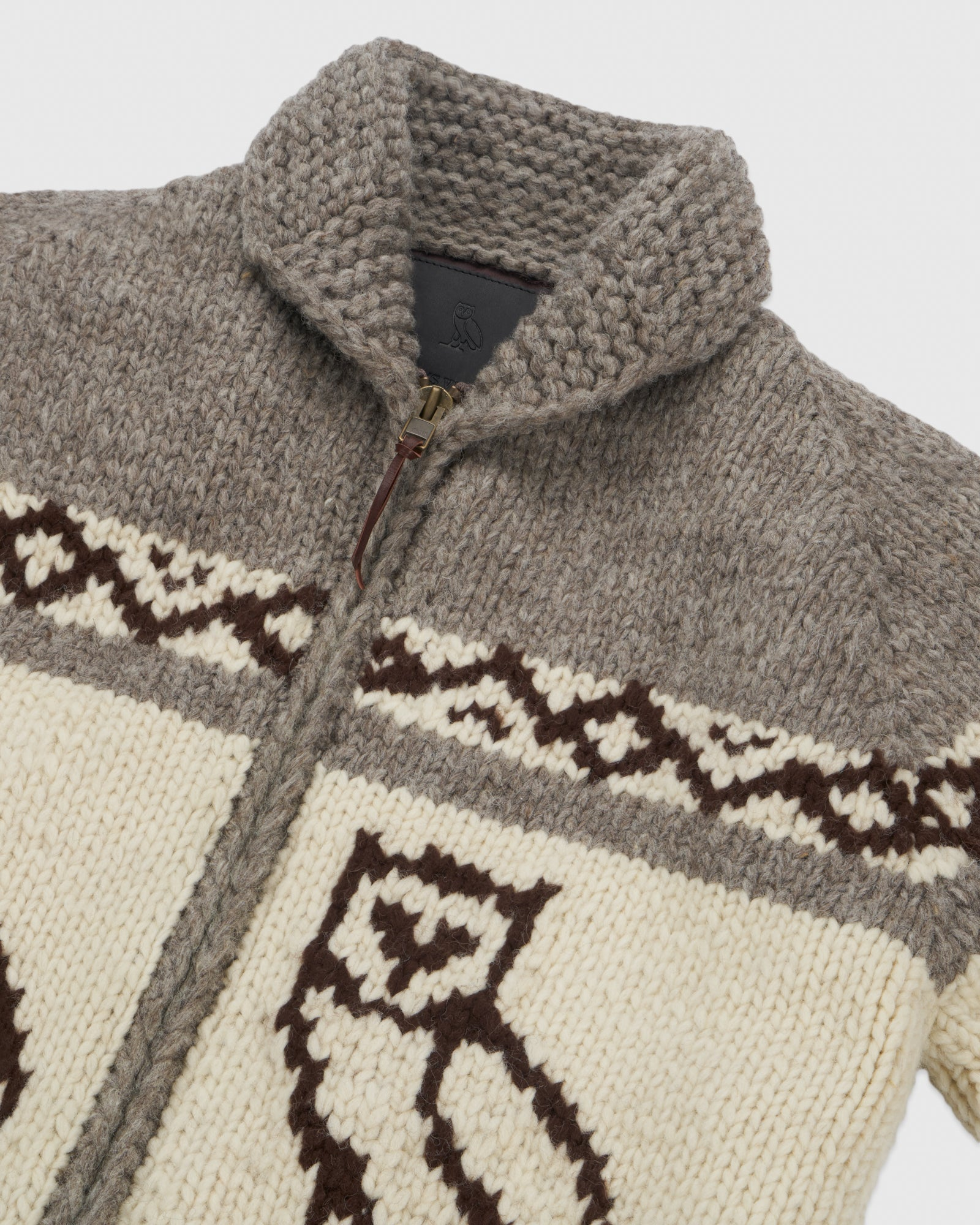 CANADIAN WOOL SWEATER - NATURAL IMAGE #4