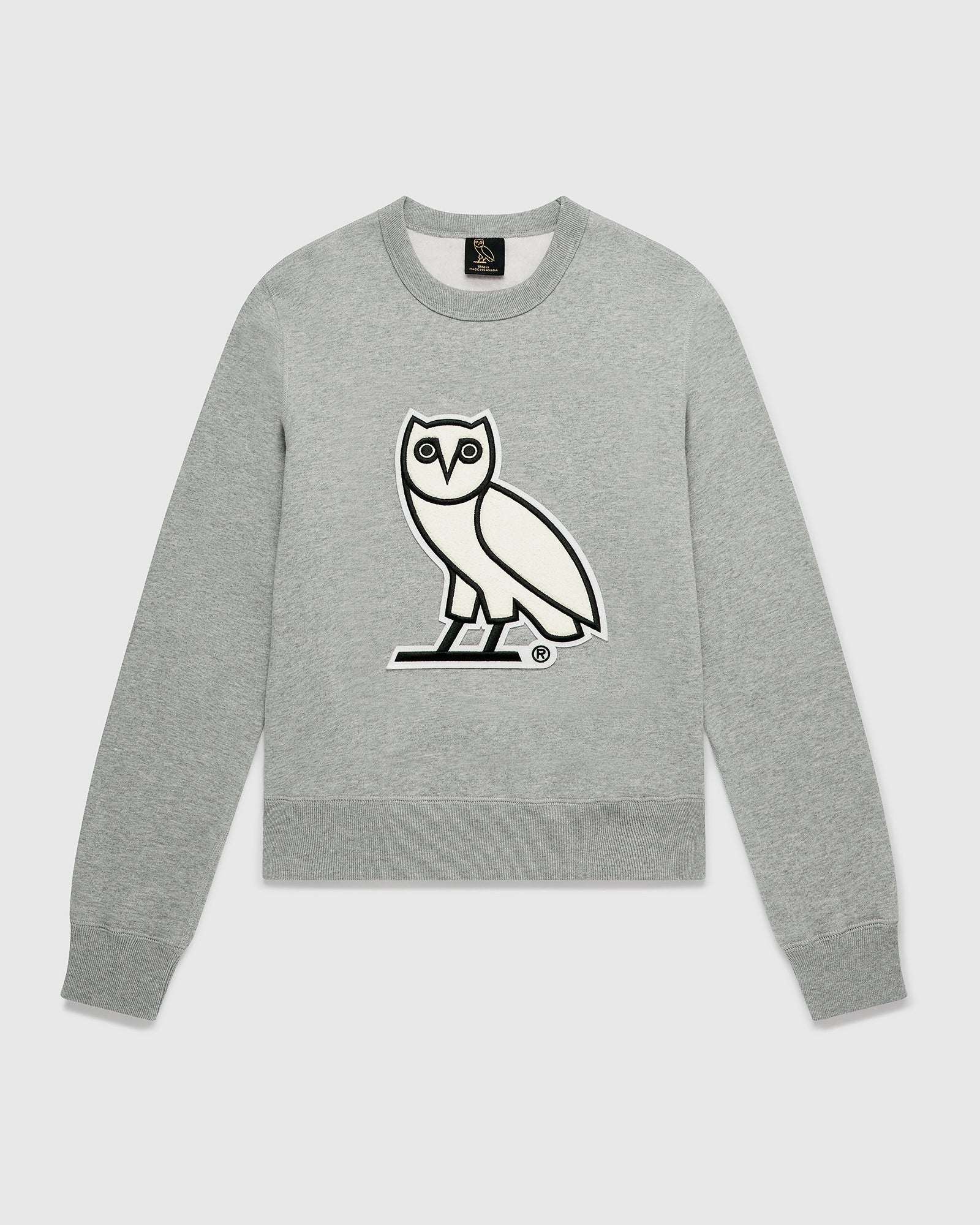 OVO CHENILLE™ WMNS CREWNECK - HEATHER GREY IMAGE #1