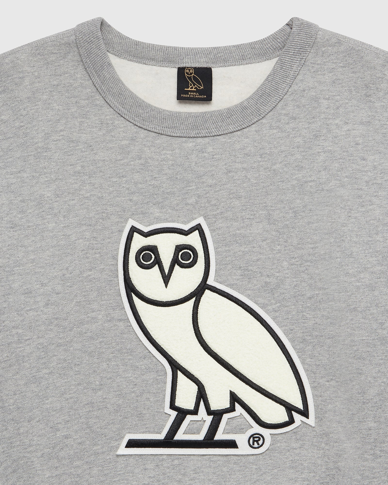 OVO CHENILLE™ WMNS CREWNECK - HEATHER GREY IMAGE #2