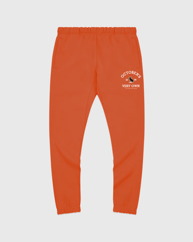 COLLEGIATE ARCH SWEATPANT - ORANGE