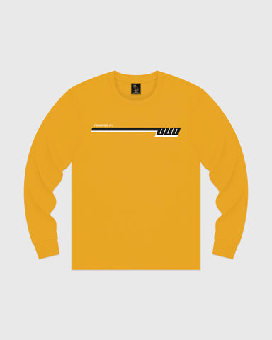 COMPETITION LONGSLEEVE T-SHIRT - AUTUMN YELLOW