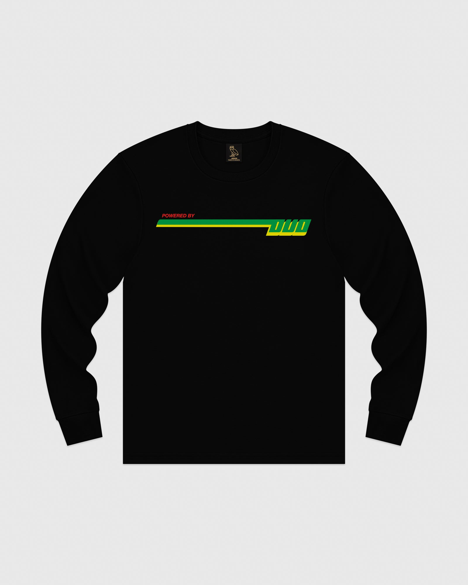 COMPETITION LONGSLEEVE T-SHIRT - BLACK IMAGE #1