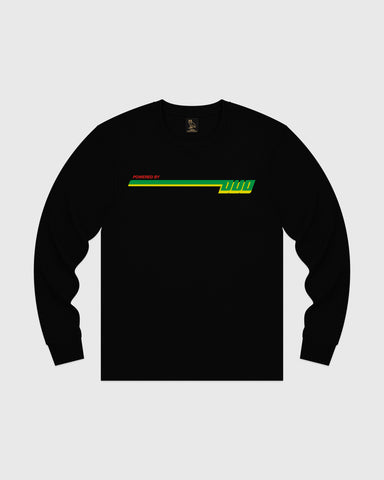 COMPETITION LONGSLEEVE T-SHIRT - BLACK