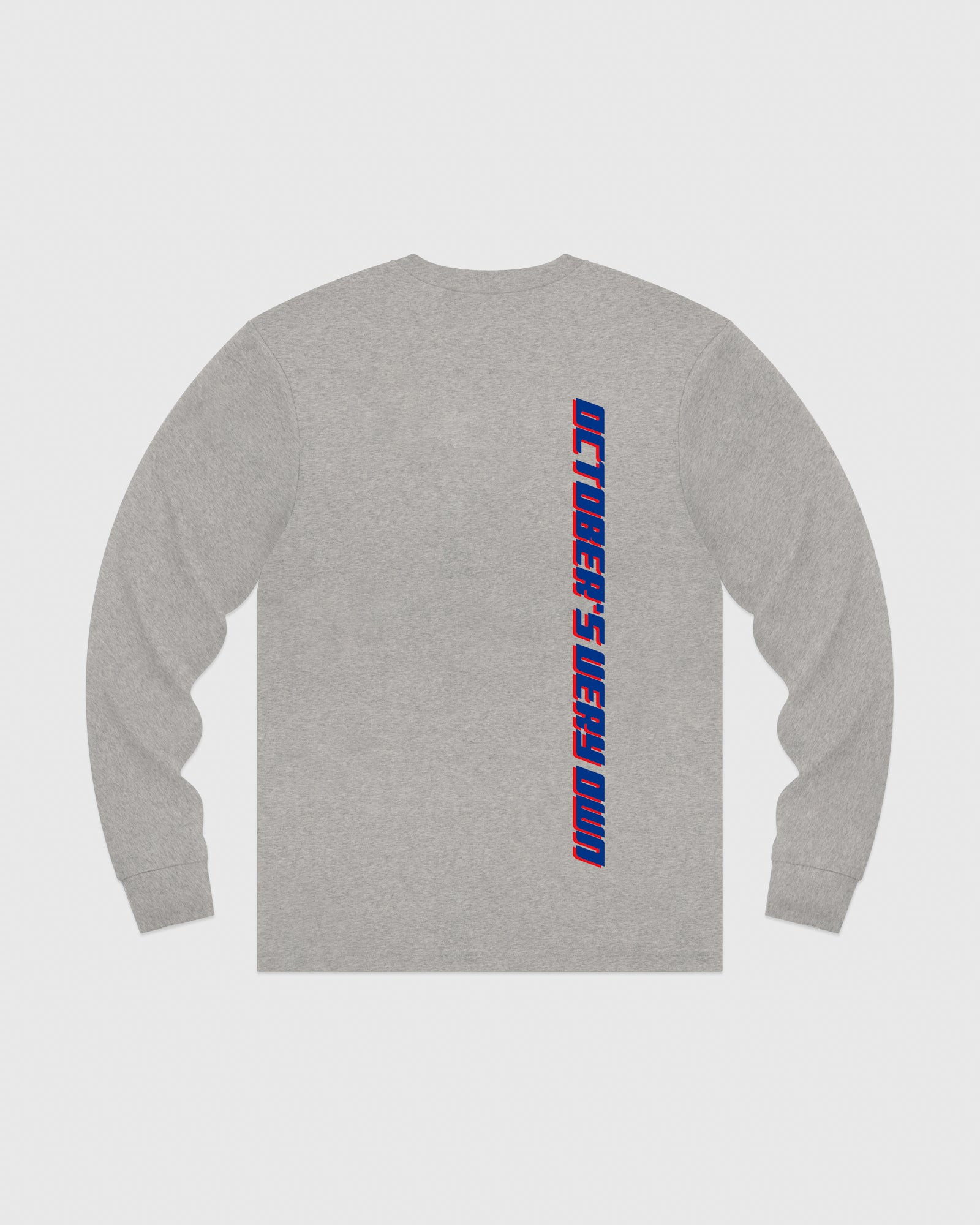 COMPETITION LONGSLEEVE T-SHIRT - HEATHER GREY IMAGE #5