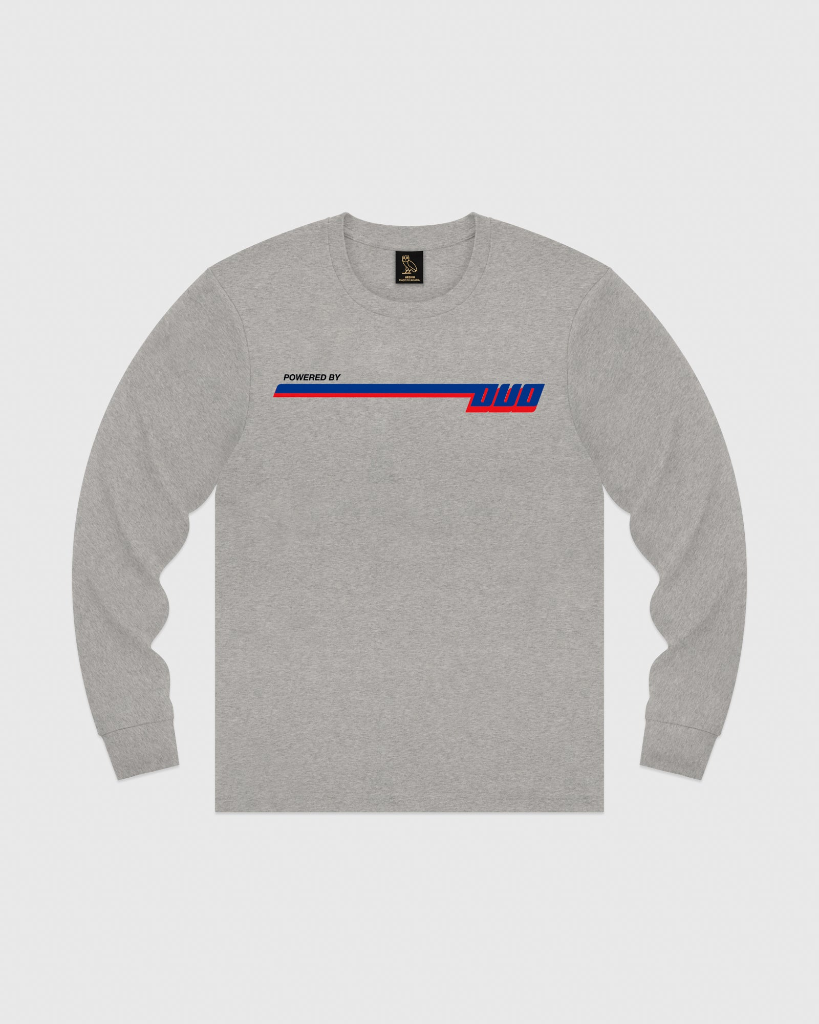 COMPETITION LONGSLEEVE T-SHIRT - HEATHER GREY IMAGE #1