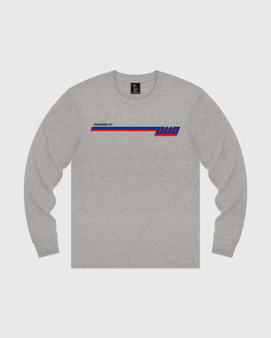 COMPETITION LONGSLEEVE T-SHIRT - HEATHER GREY