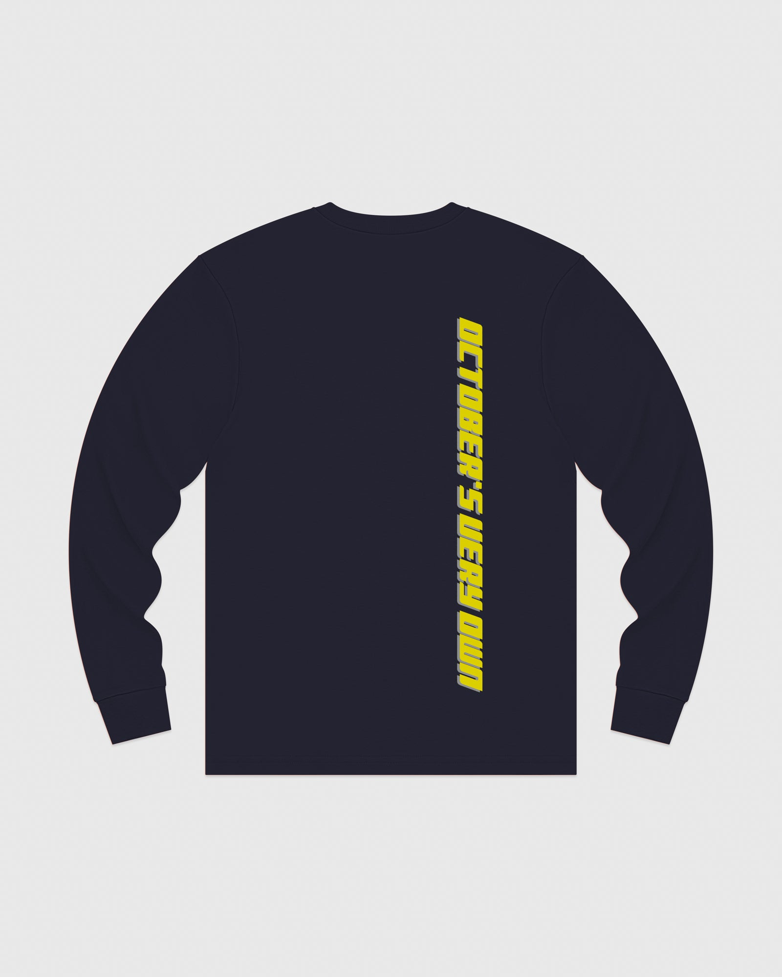 COMPETITION LONGSLEEVE T-SHIRT - NAVY IMAGE #5