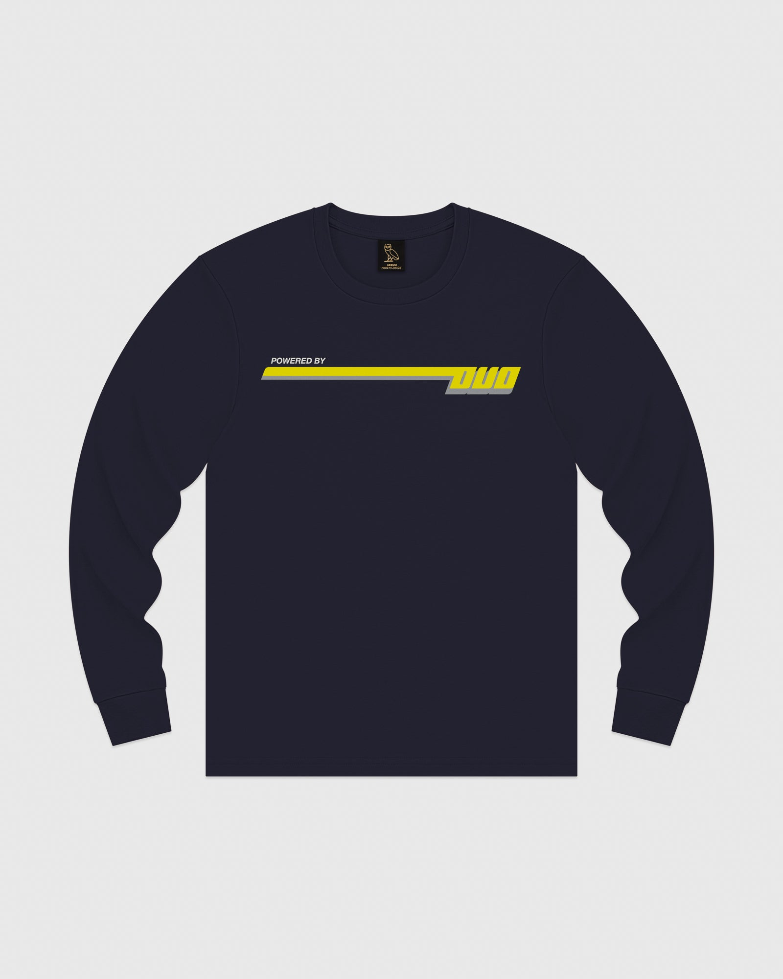 COMPETITION LONGSLEEVE T-SHIRT - NAVY IMAGE #1