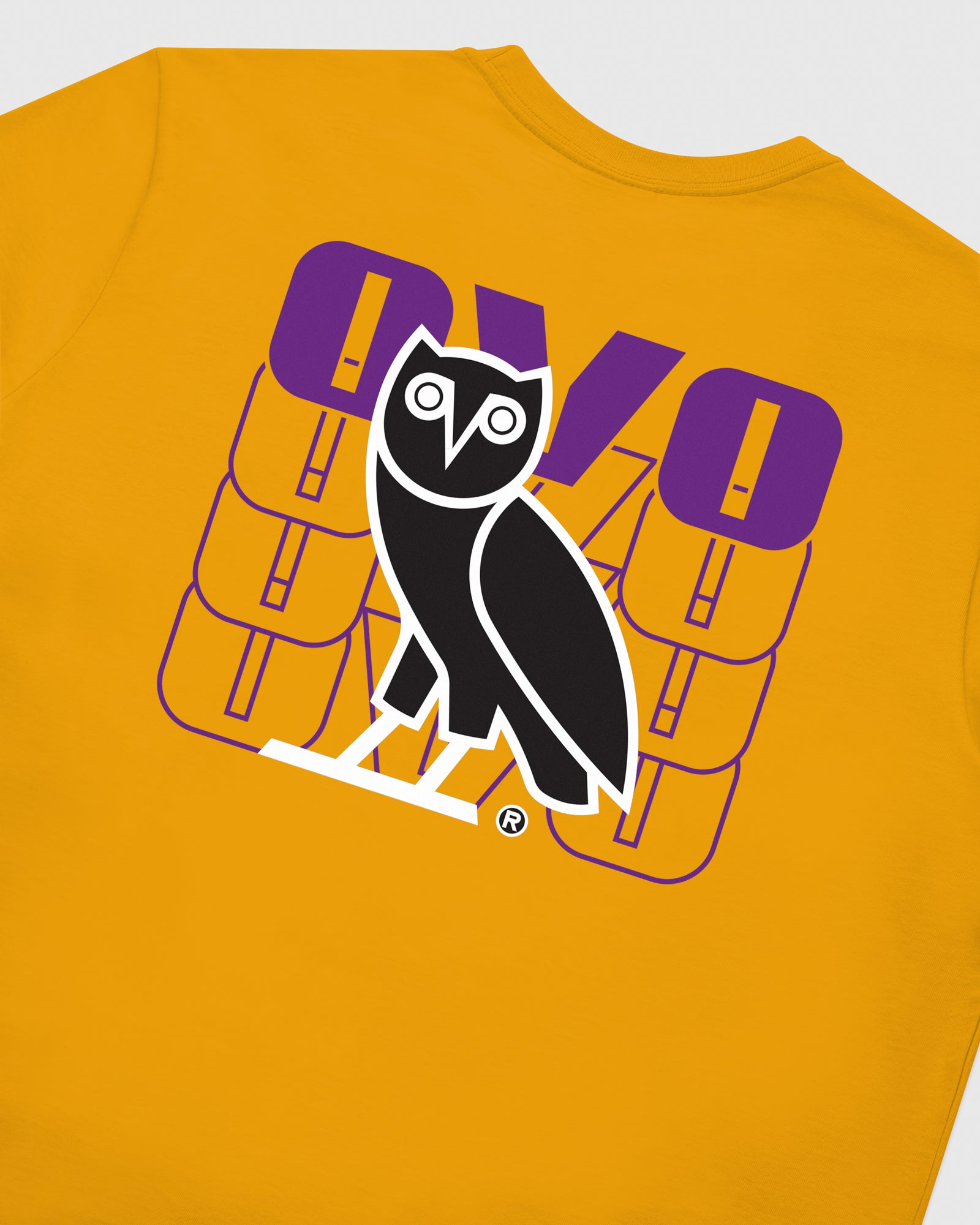 OVO ECHO LONGSLEEVE T-SHIRT - AUTUMN YELLOW IMAGE #6