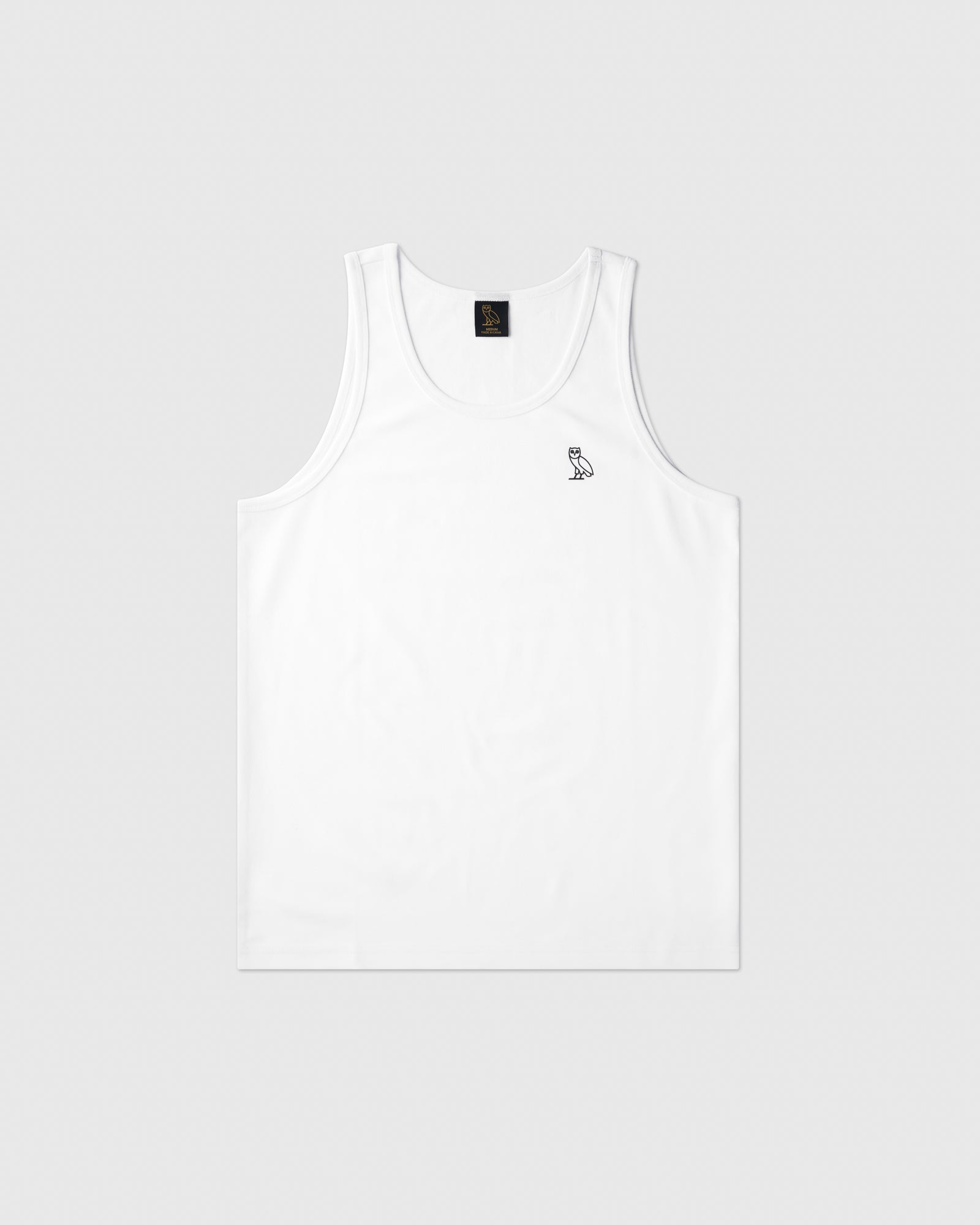 OVO ESSENTIALS TANK TOP - WHITE IMAGE #1