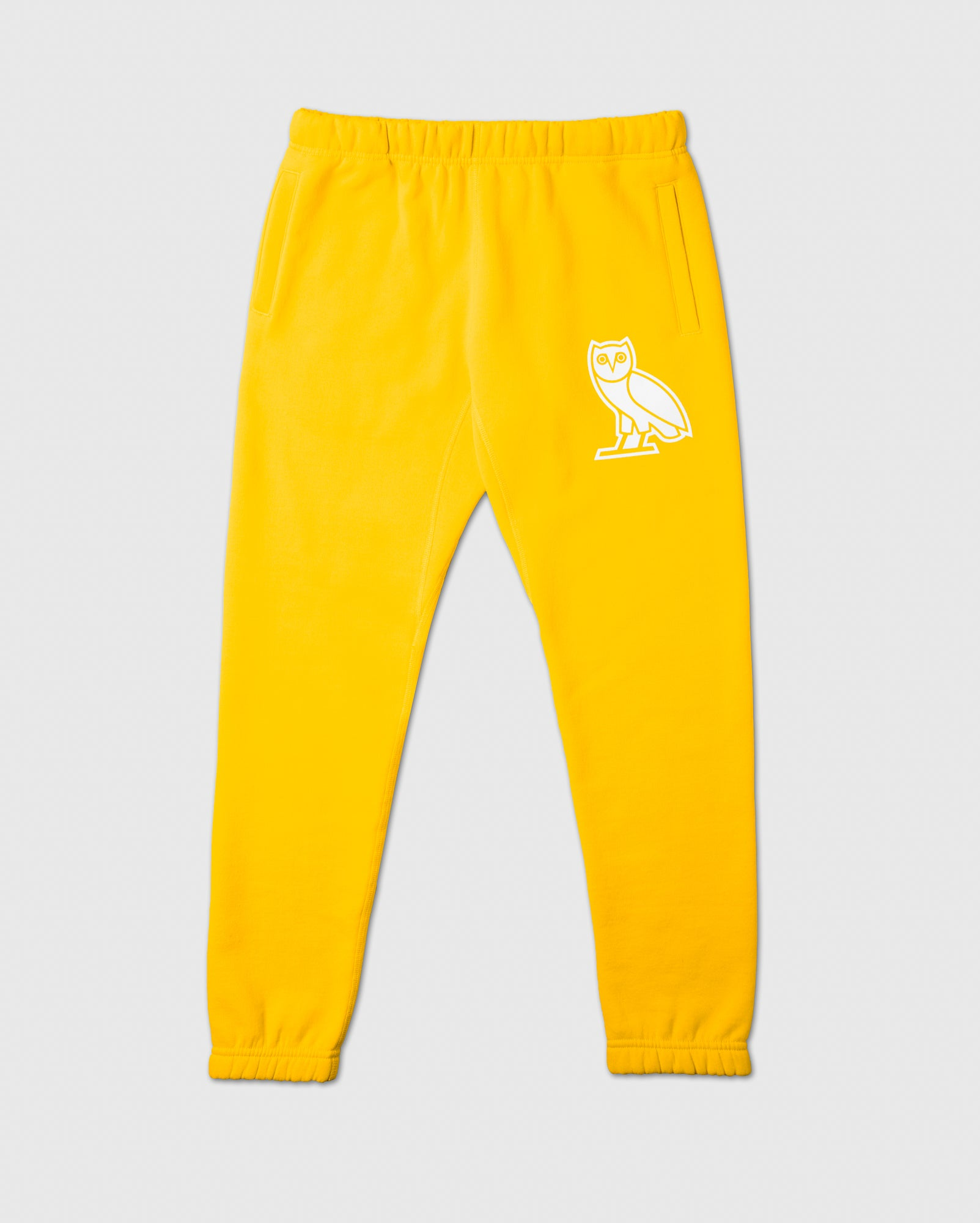 FLOCK TEAM OWL SWEATPANT - CANARY IMAGE #1
