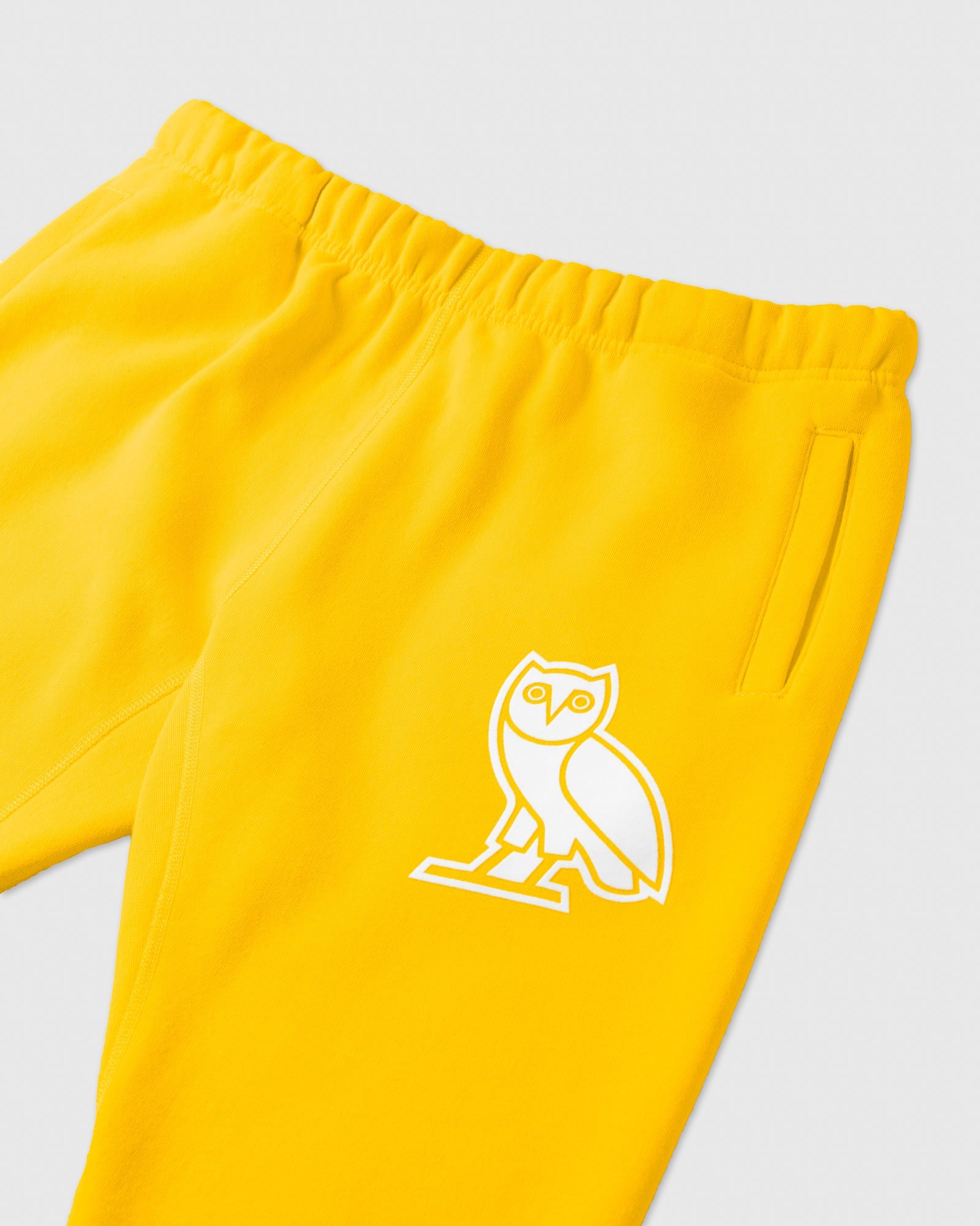 FLOCK TEAM OWL SWEATPANT - CANARY IMAGE #2