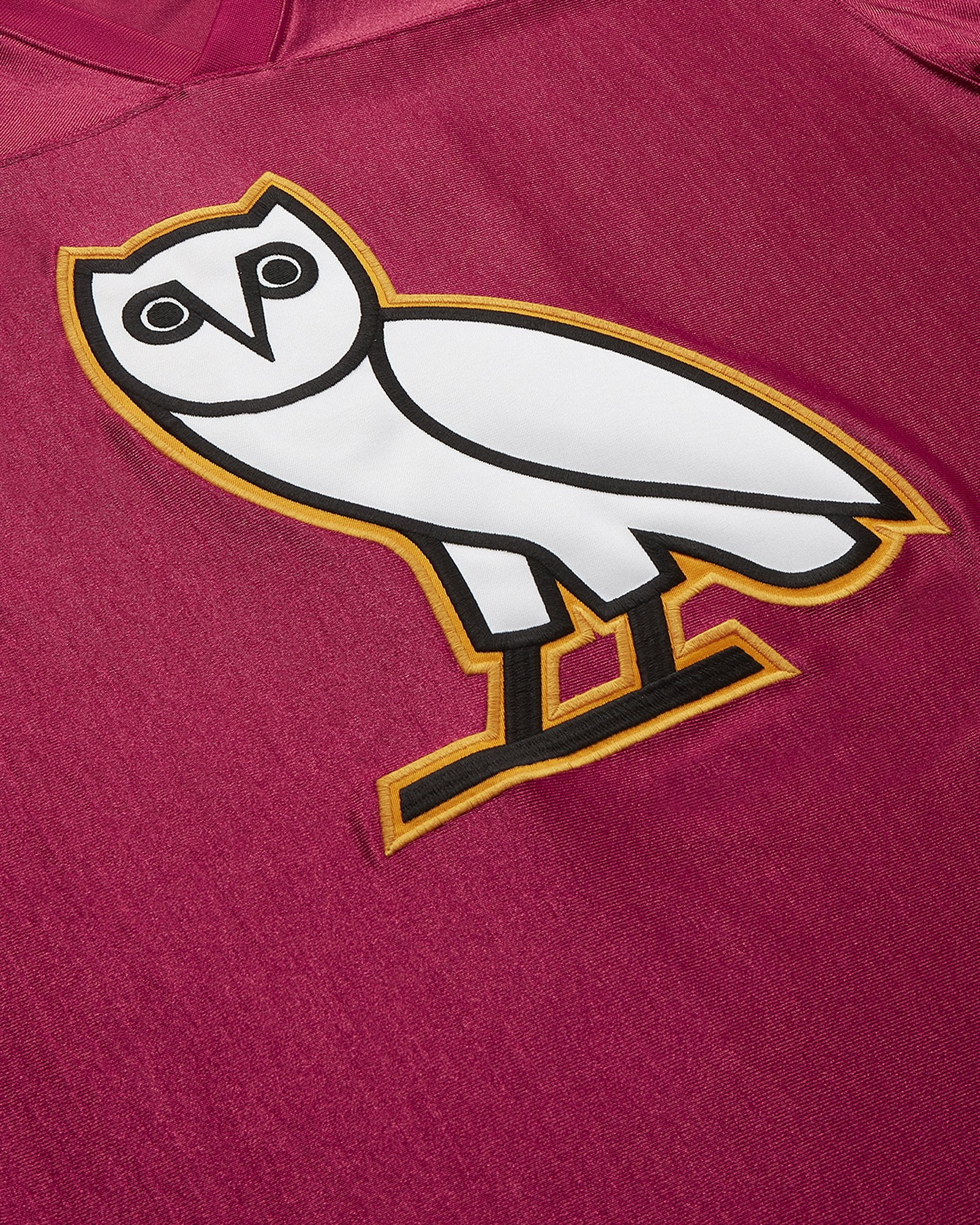 OVO FOOTBALL JERSEY - RED IMAGE #3