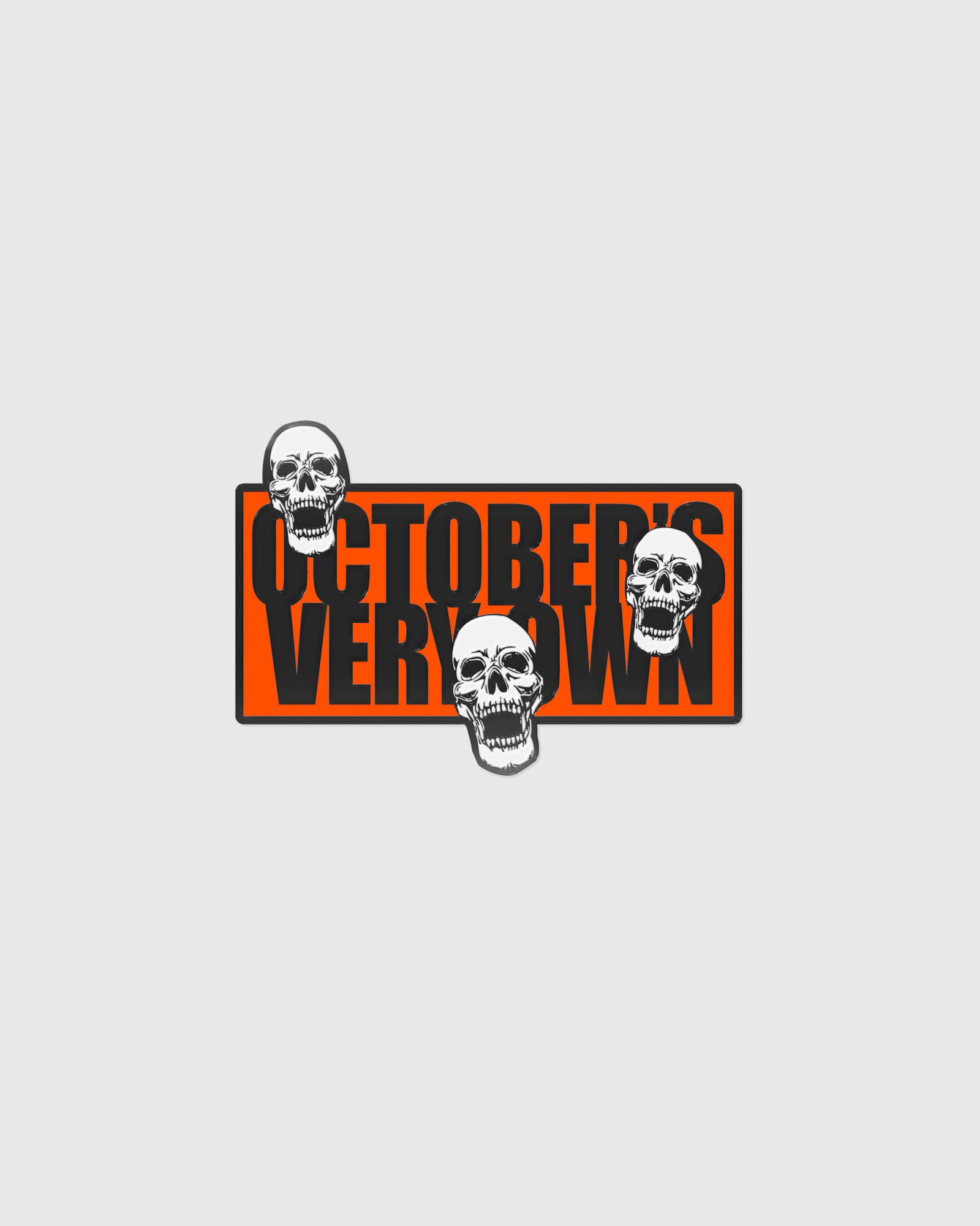 HALLOWEEN GANG PIN - ORANGE IMAGE #1