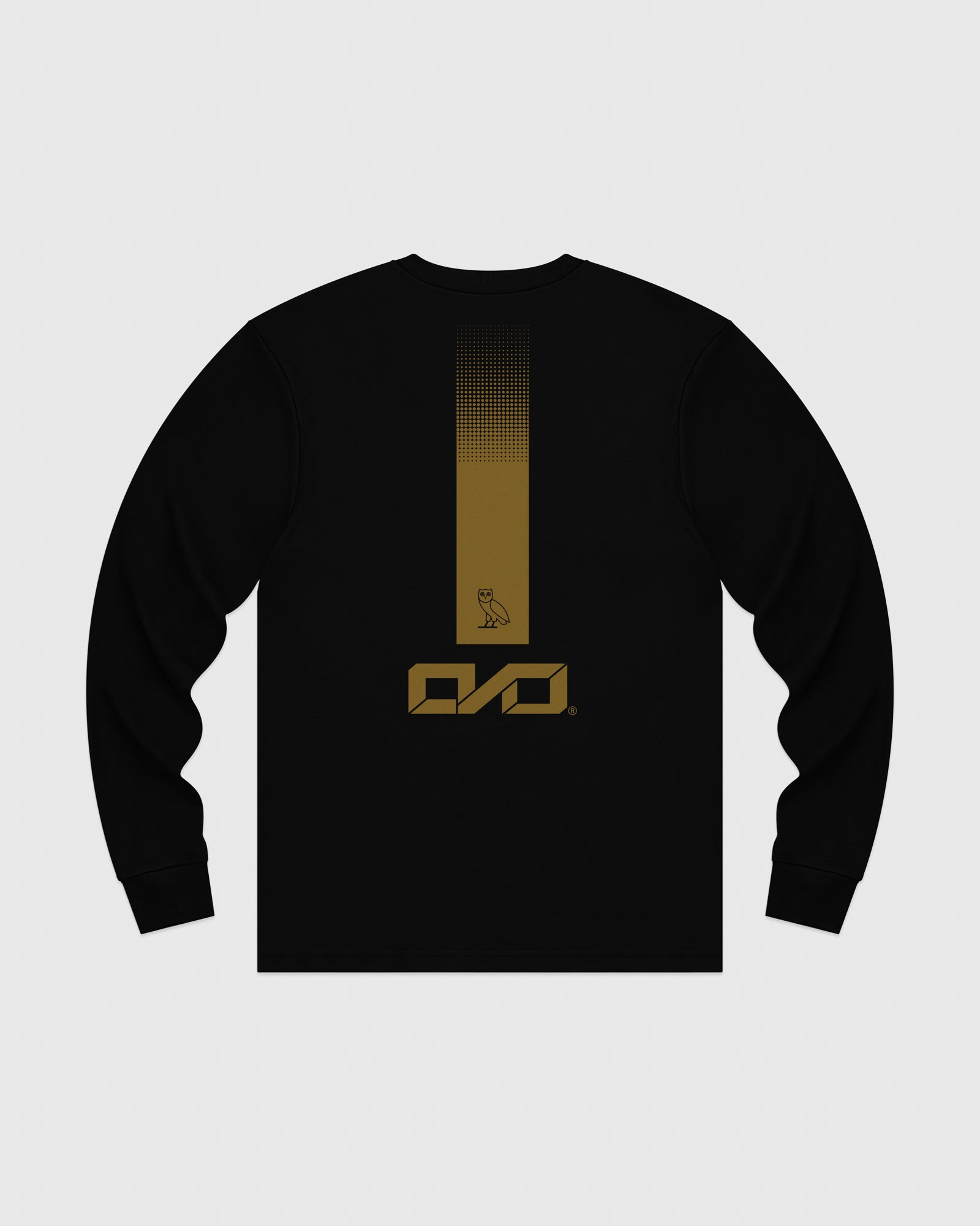 OVO INDUSTRIES LONGSLEEVE T-SHIRT - BLACK IMAGE #5