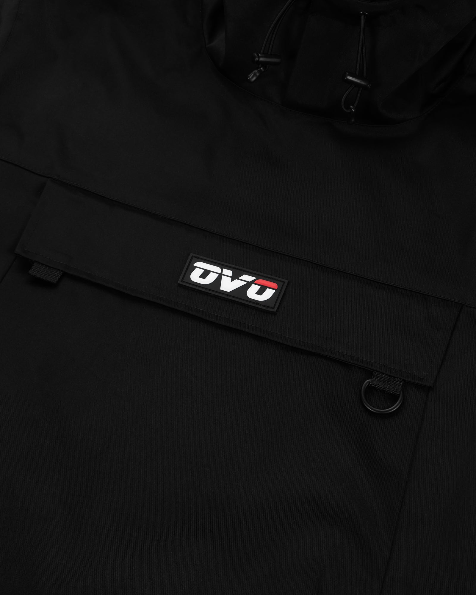OVO INTERNATIONAL ANORAK HOODIE - BLACK IMAGE #3
