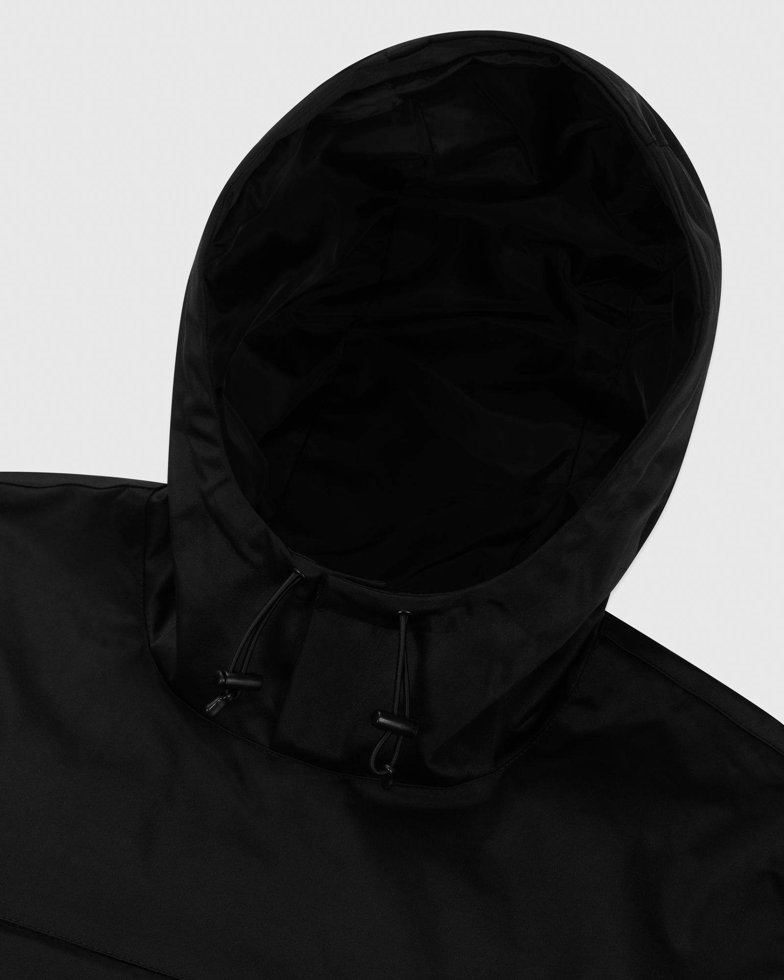 OVO INTERNATIONAL ANORAK HOODIE - BLACK IMAGE #5