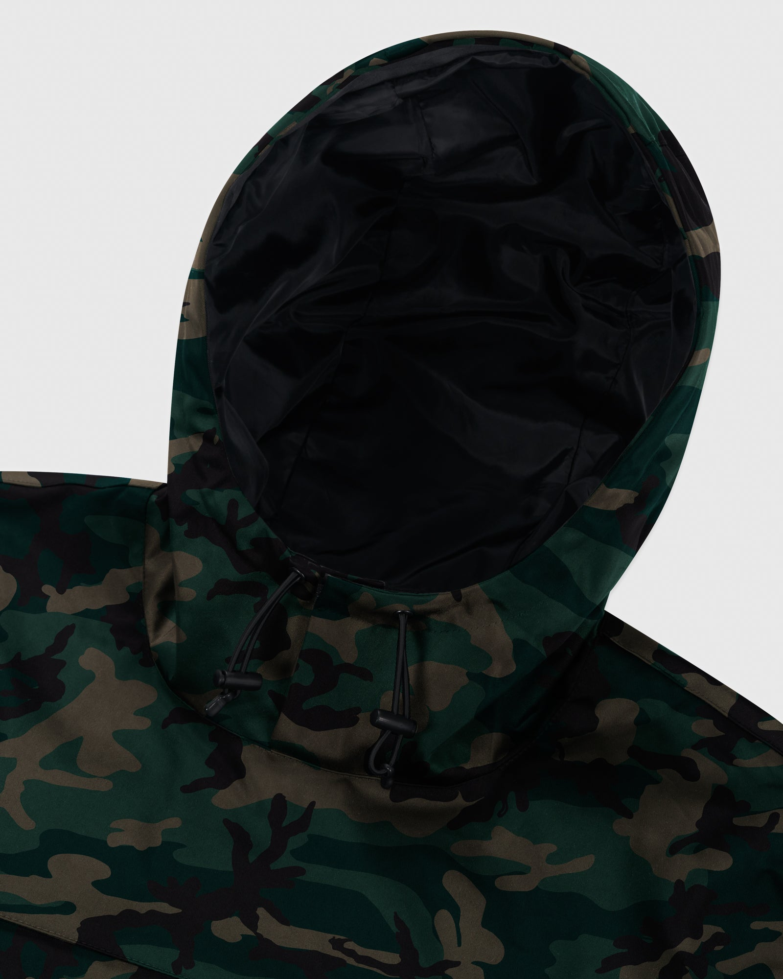 OVO INTERNATIONAL ANORAK HOODIE - CAMO GREEN IMAGE #5