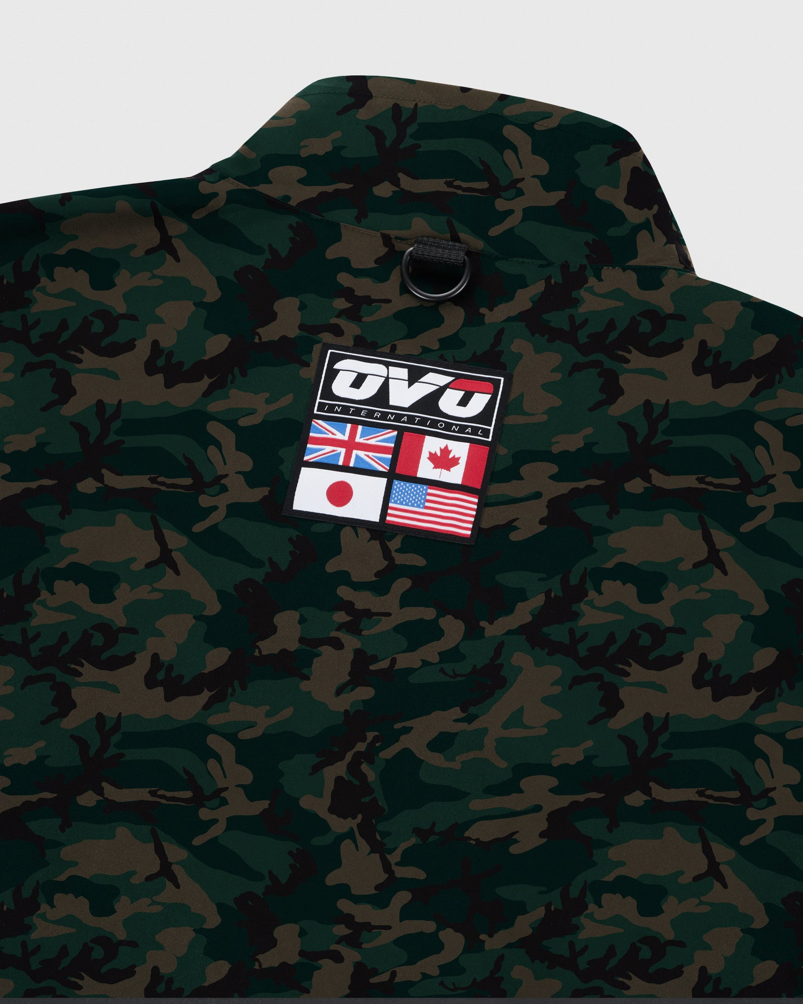 OVO INTERNATIONAL JACKET - CAMO GREEN IMAGE #6