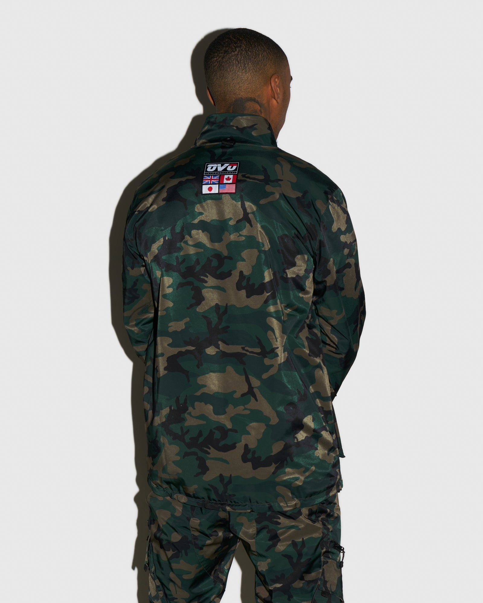 OVO INTERNATIONAL JACKET - CAMO GREEN IMAGE #3
