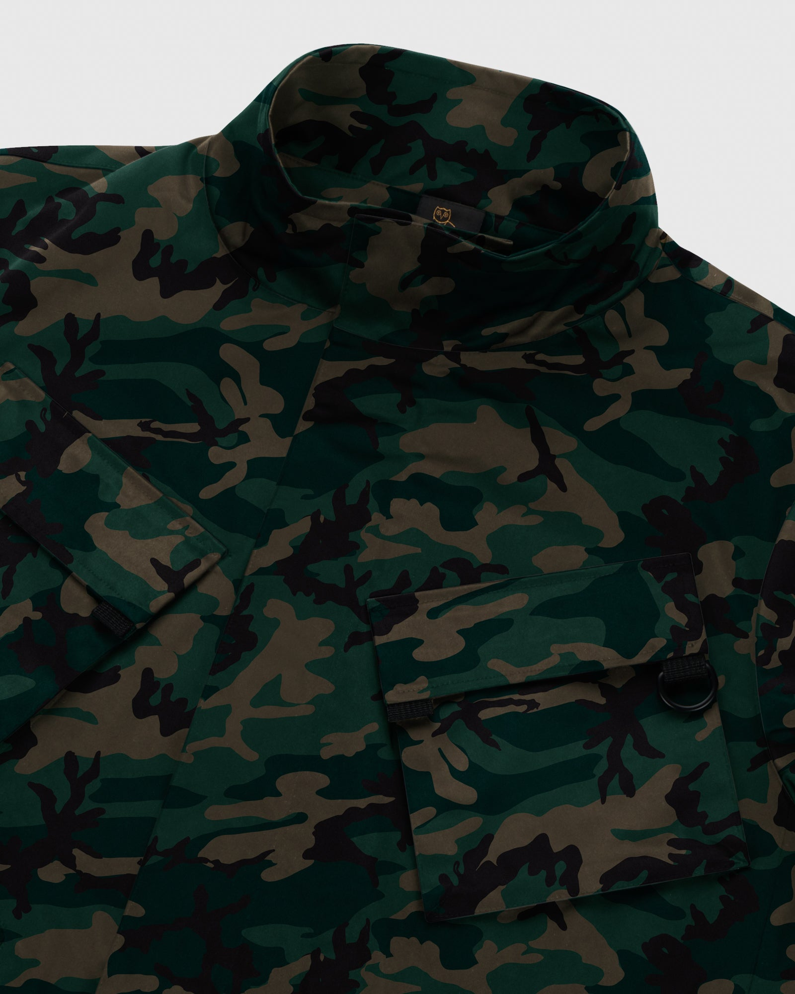 OVO INTERNATIONAL JACKET - CAMO GREEN IMAGE #4