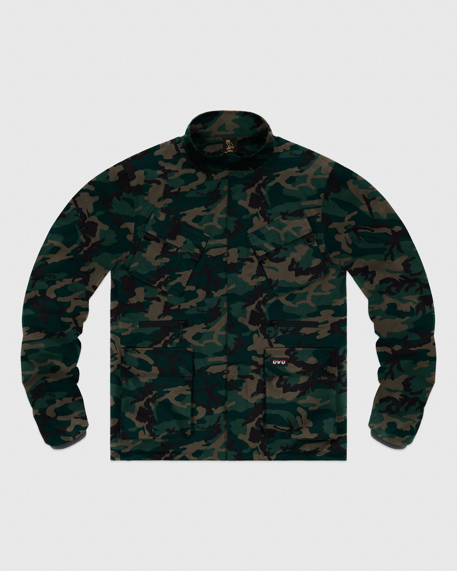 OVO INTERNATIONAL JACKET - CAMO GREEN IMAGE #1
