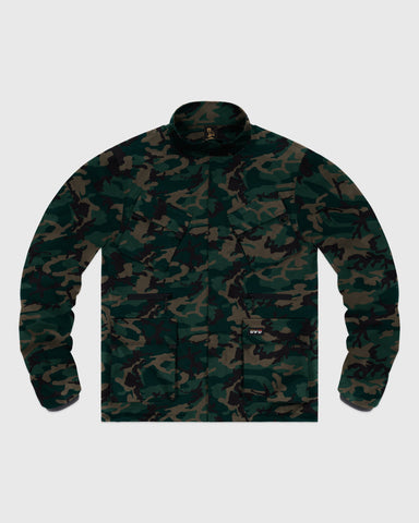 OVO INTERNATIONAL JACKET - CAMO GREEN