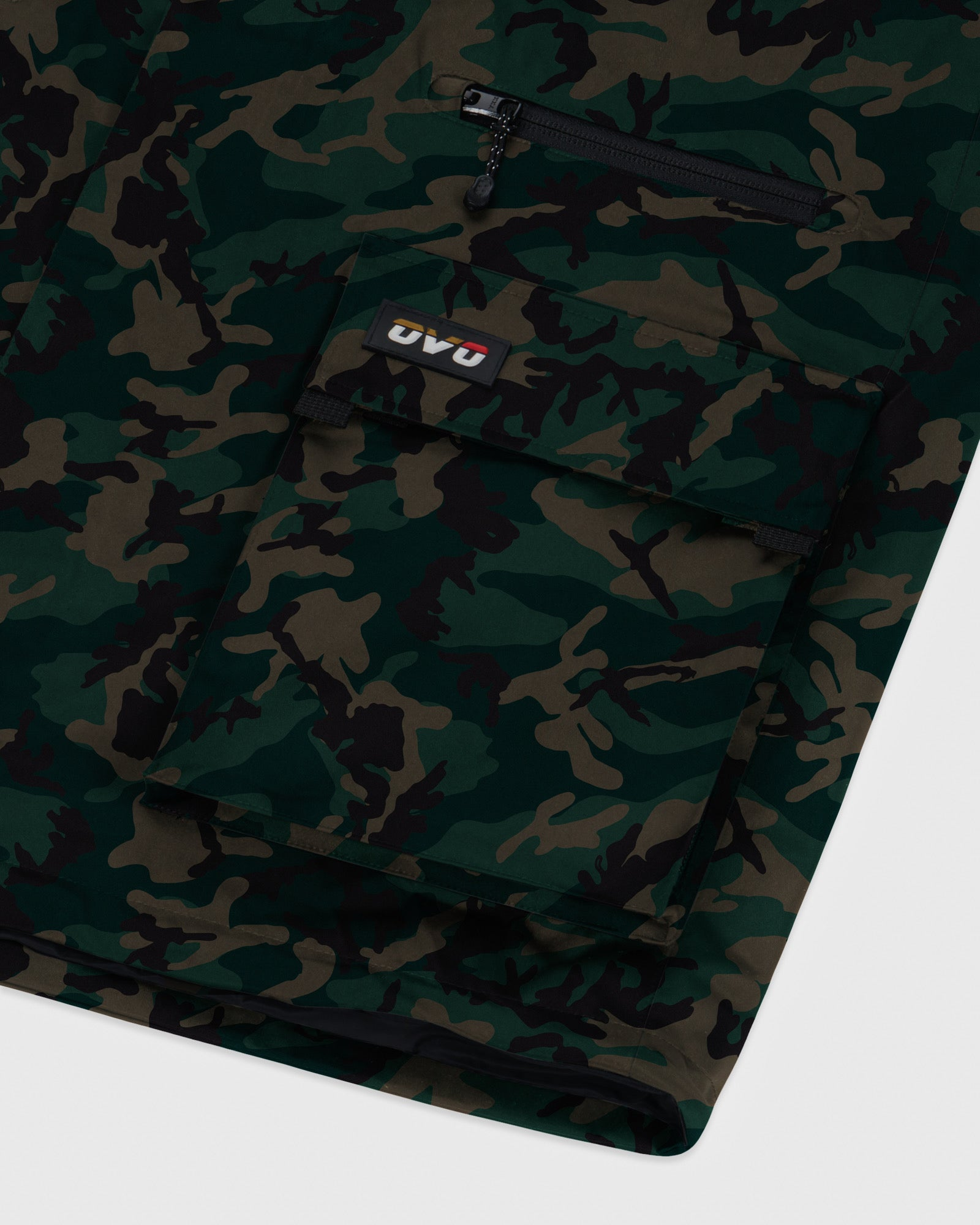 OVO INTERNATIONAL JACKET - CAMO GREEN IMAGE #5