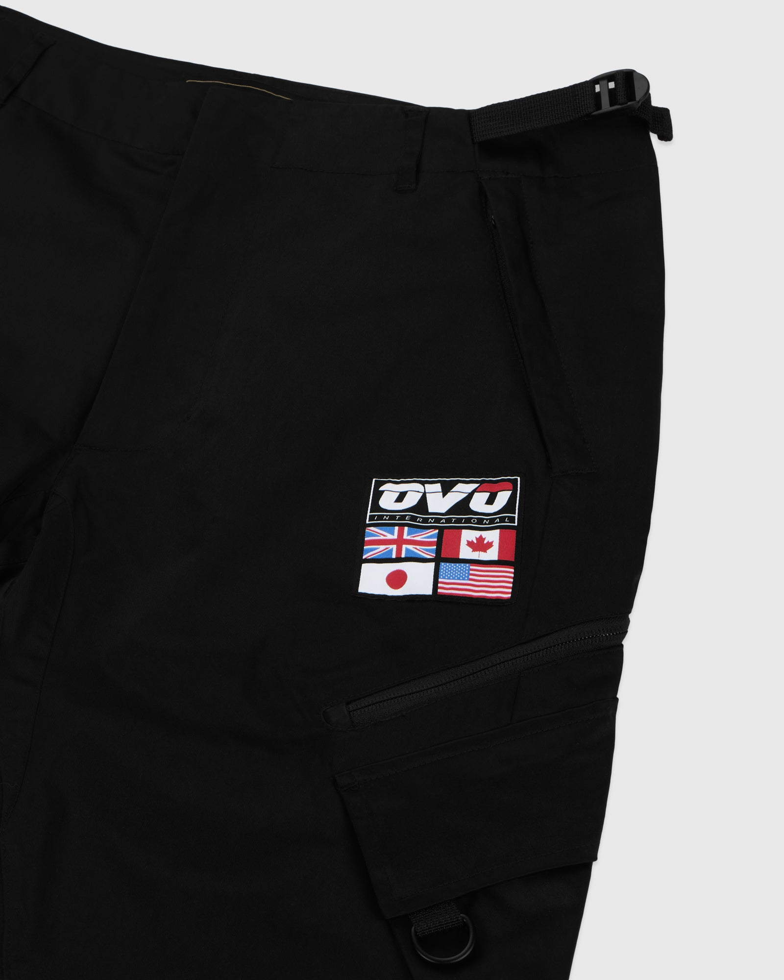 OVO INTERNATIONAL PANT - BLACK IMAGE #4