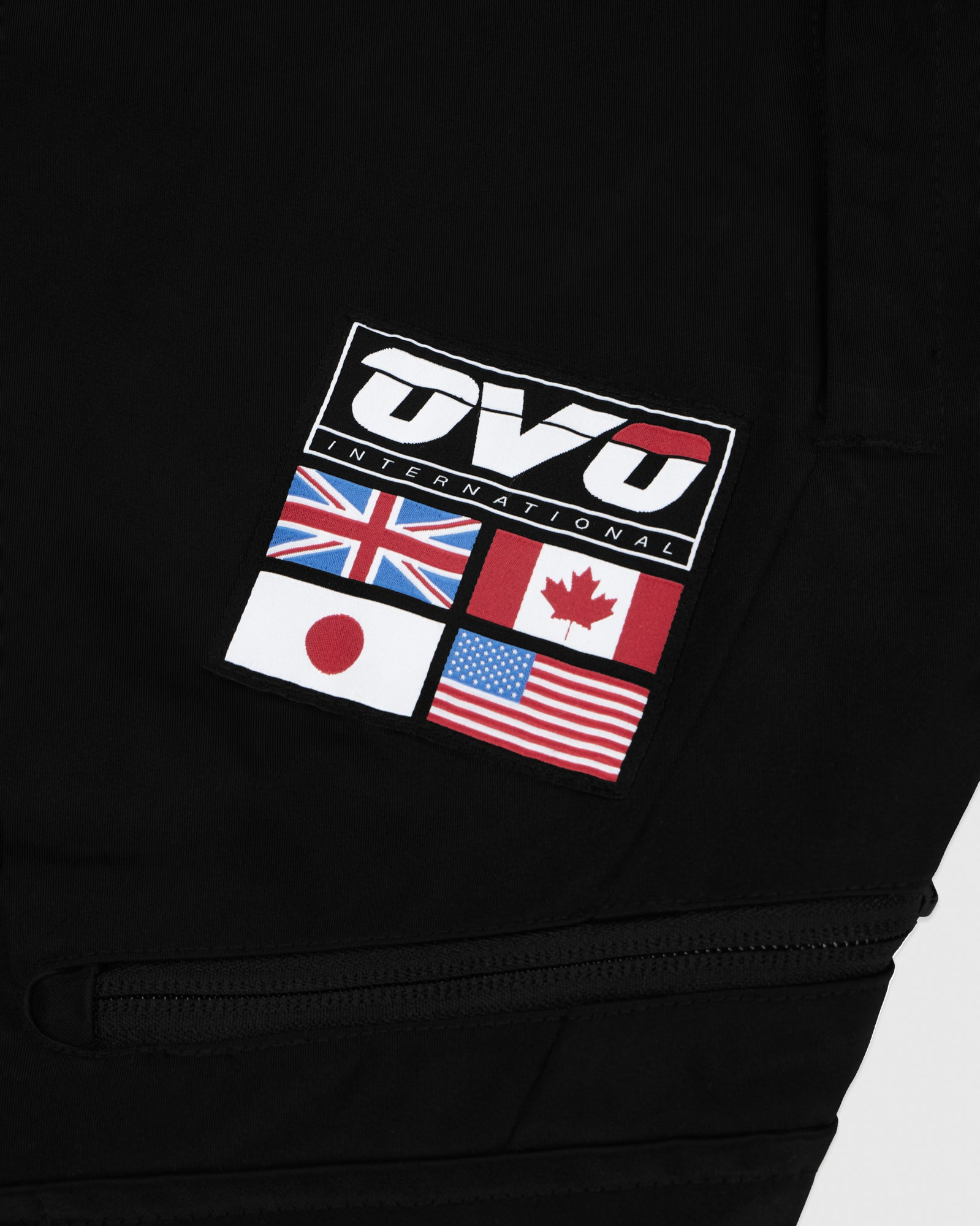 OVO INTERNATIONAL PANT - BLACK IMAGE #3